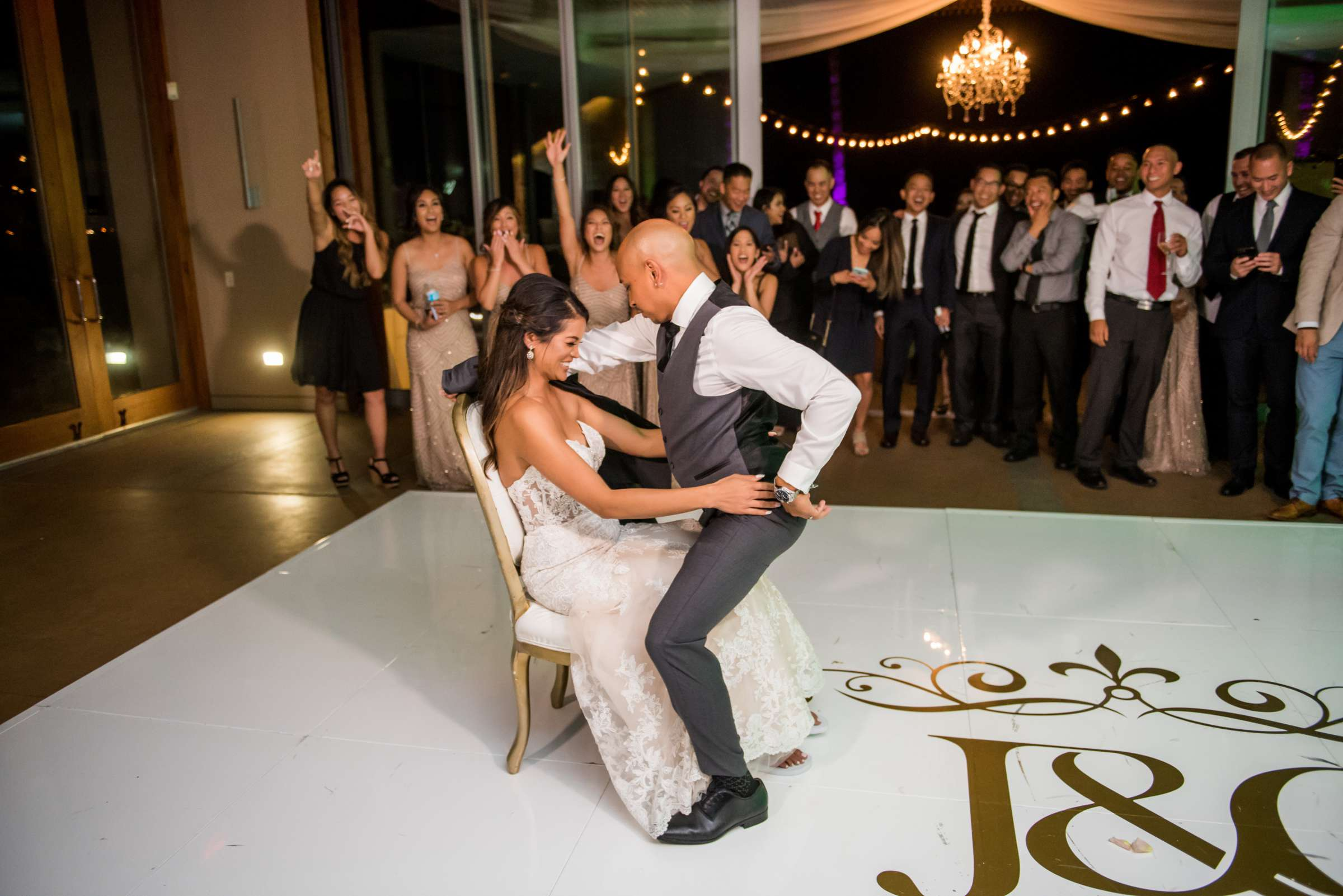 Scripps Seaside Forum Wedding coordinated by Lavish Weddings, Cindy and Justin Wedding Photo #381885 by True Photography