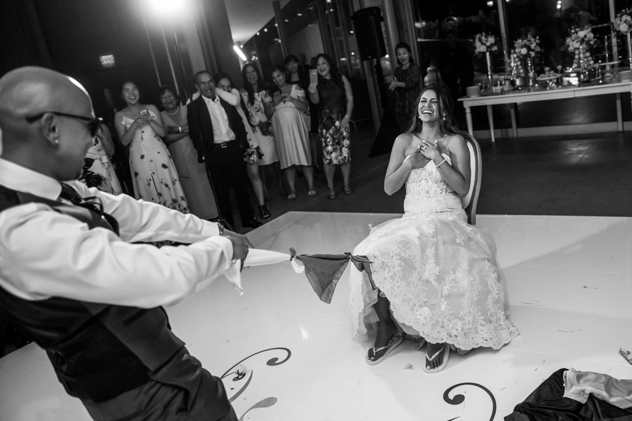 Scripps Seaside Forum Wedding coordinated by Lavish Weddings, Cindy and Justin Wedding Photo #381888 by True Photography