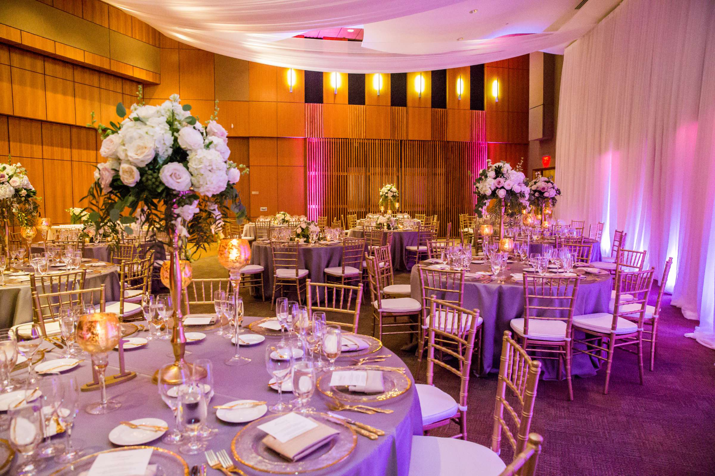 Scripps Seaside Forum Wedding coordinated by Lavish Weddings, Cindy and Justin Wedding Photo #381969 by True Photography