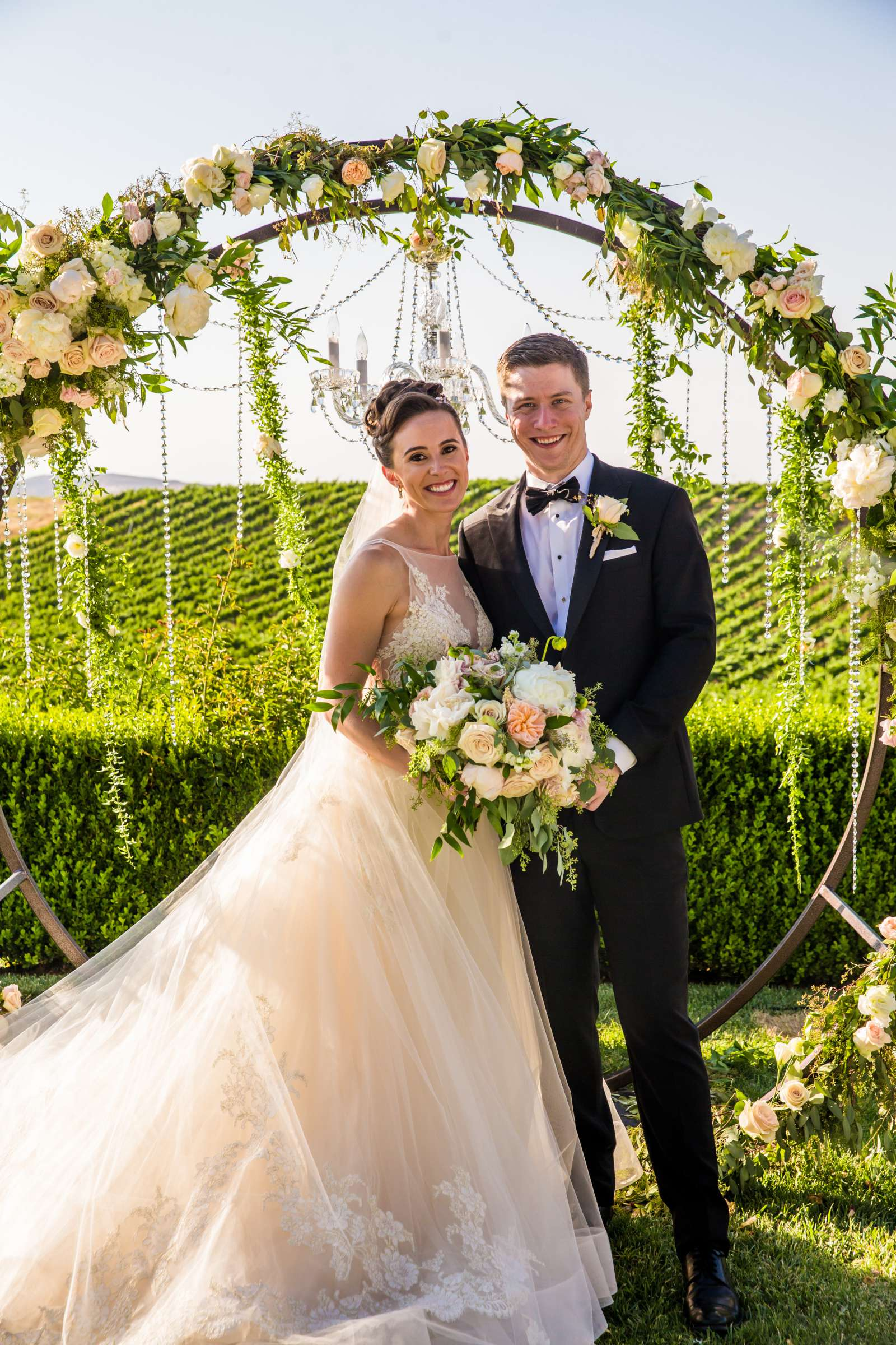Callaway Vineyards & Winery Wedding, Natalia and Mike Wedding Photo #4 by True Photography