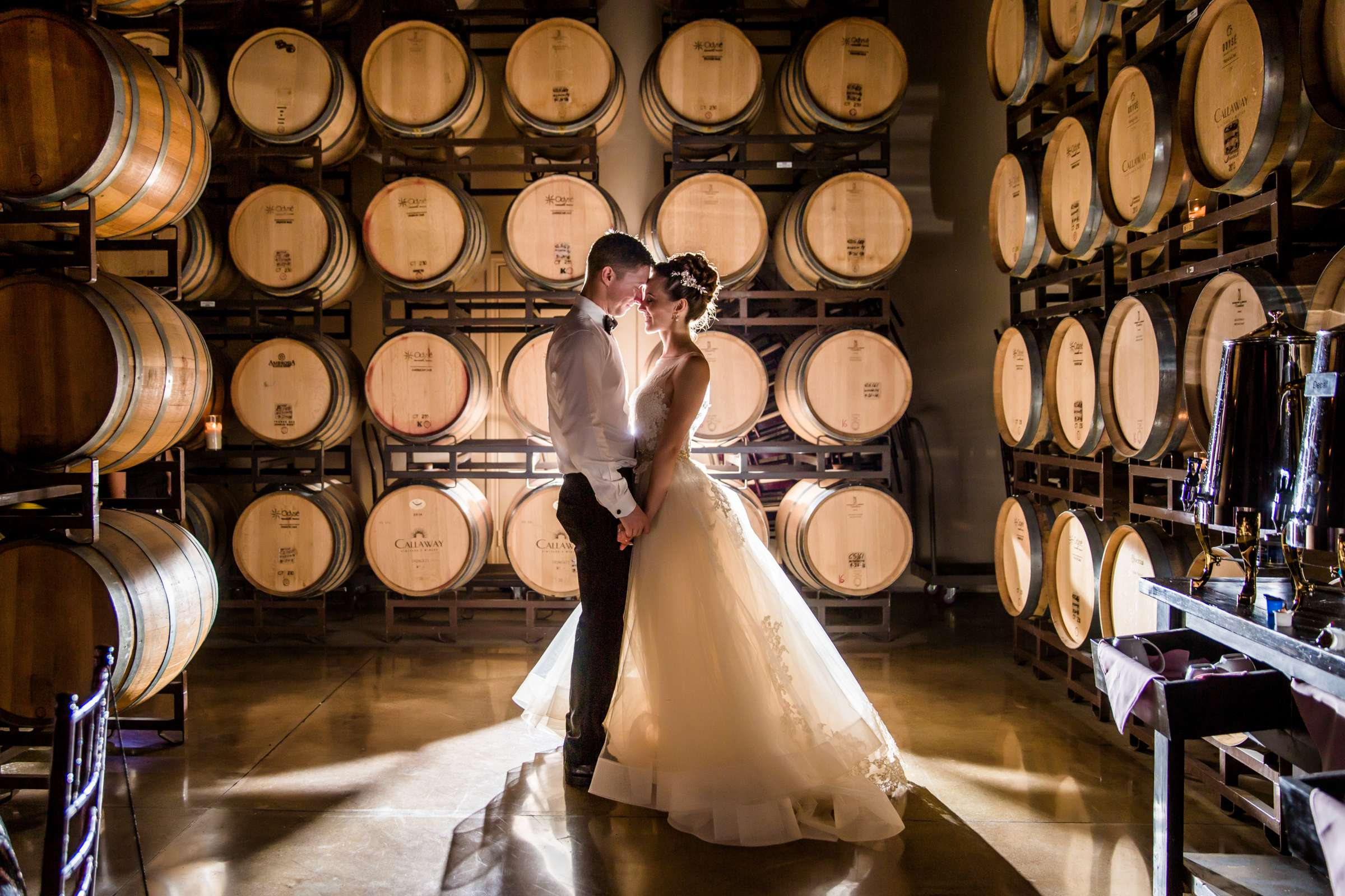 Winery at Callaway Vineyards & Winery Wedding, Natalia and Mike Wedding Photo #1 by True Photography