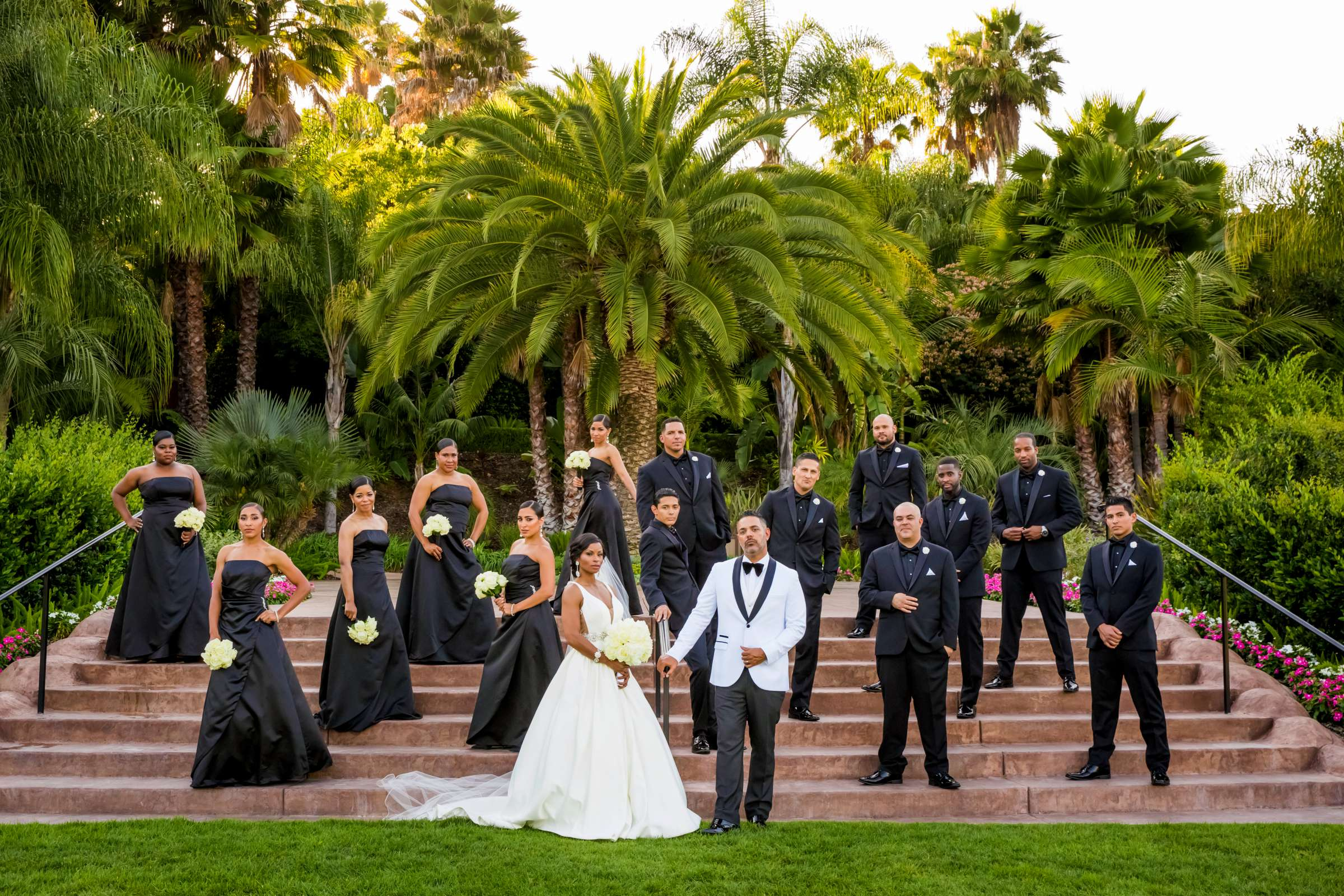 Bridal Party at Grand Tradition Estate Wedding coordinated by Grand Tradition Estate, Shantel and Sean Wedding Photo #9 by True Photography