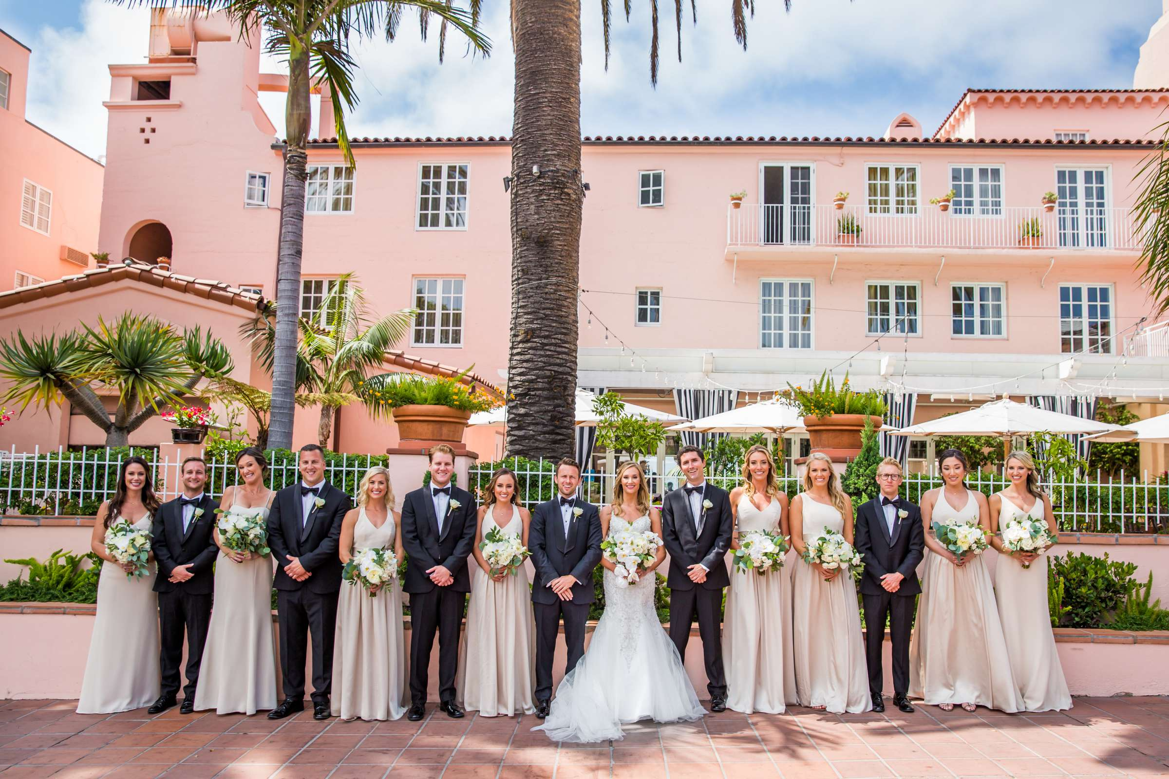 La Valencia Wedding coordinated by First Comes Love Weddings & Events, Jaimarie and Branden Wedding Photo #8 by True Photography