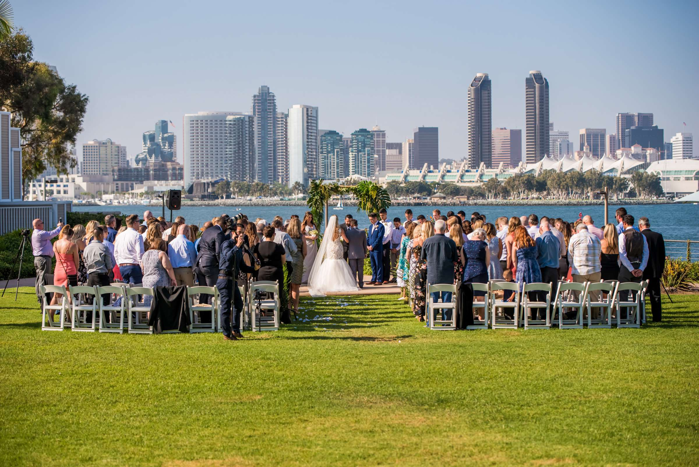 Coronado Island Marriott Resort & Spa Wedding coordinated by Bluestocking Weddings & Events, Ashleigh and Christopher Wedding Photo #57 by True Photography