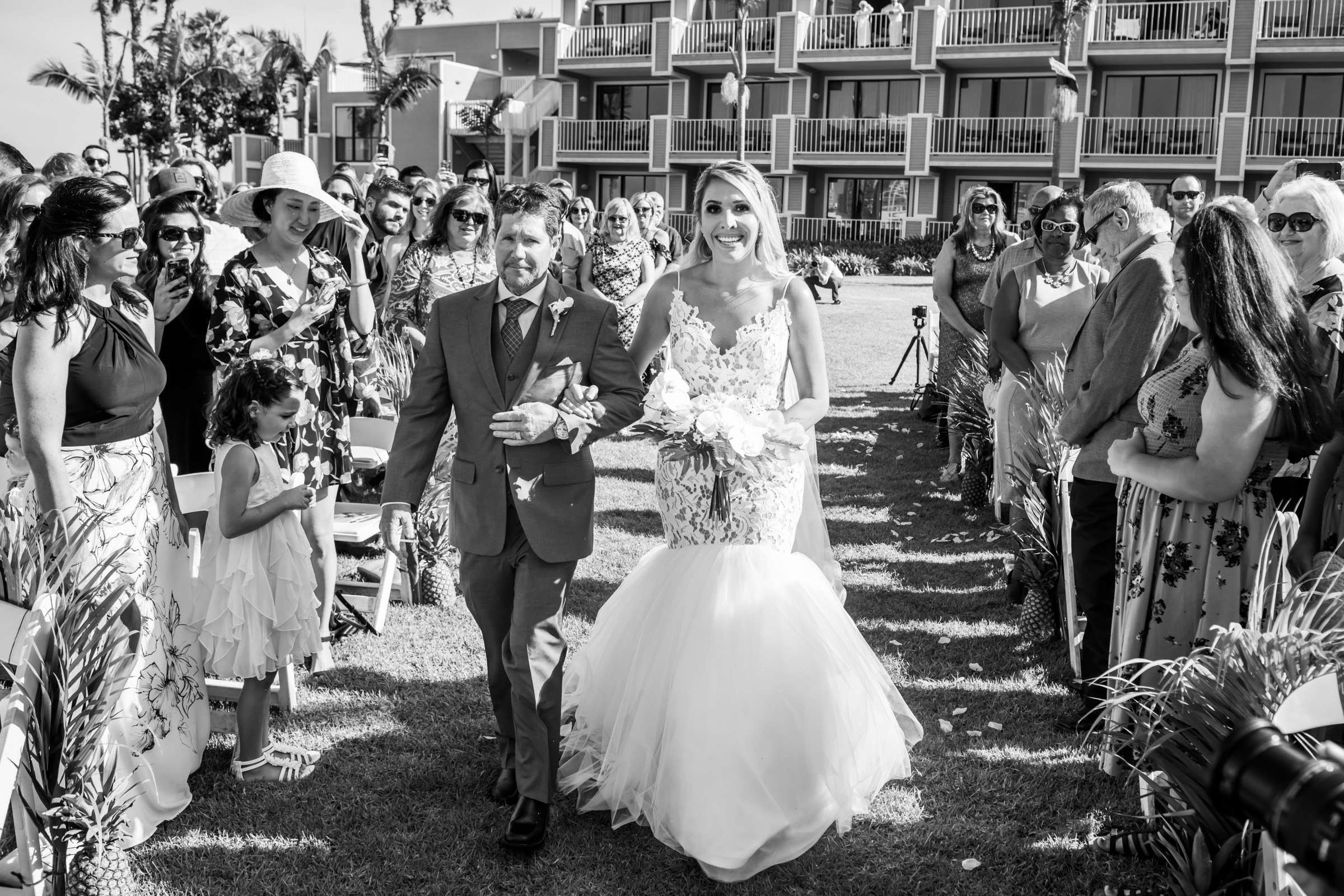 Coronado Island Marriott Resort & Spa Wedding coordinated by Bluestocking Weddings & Events, Ashleigh and Christopher Wedding Photo #56 by True Photography