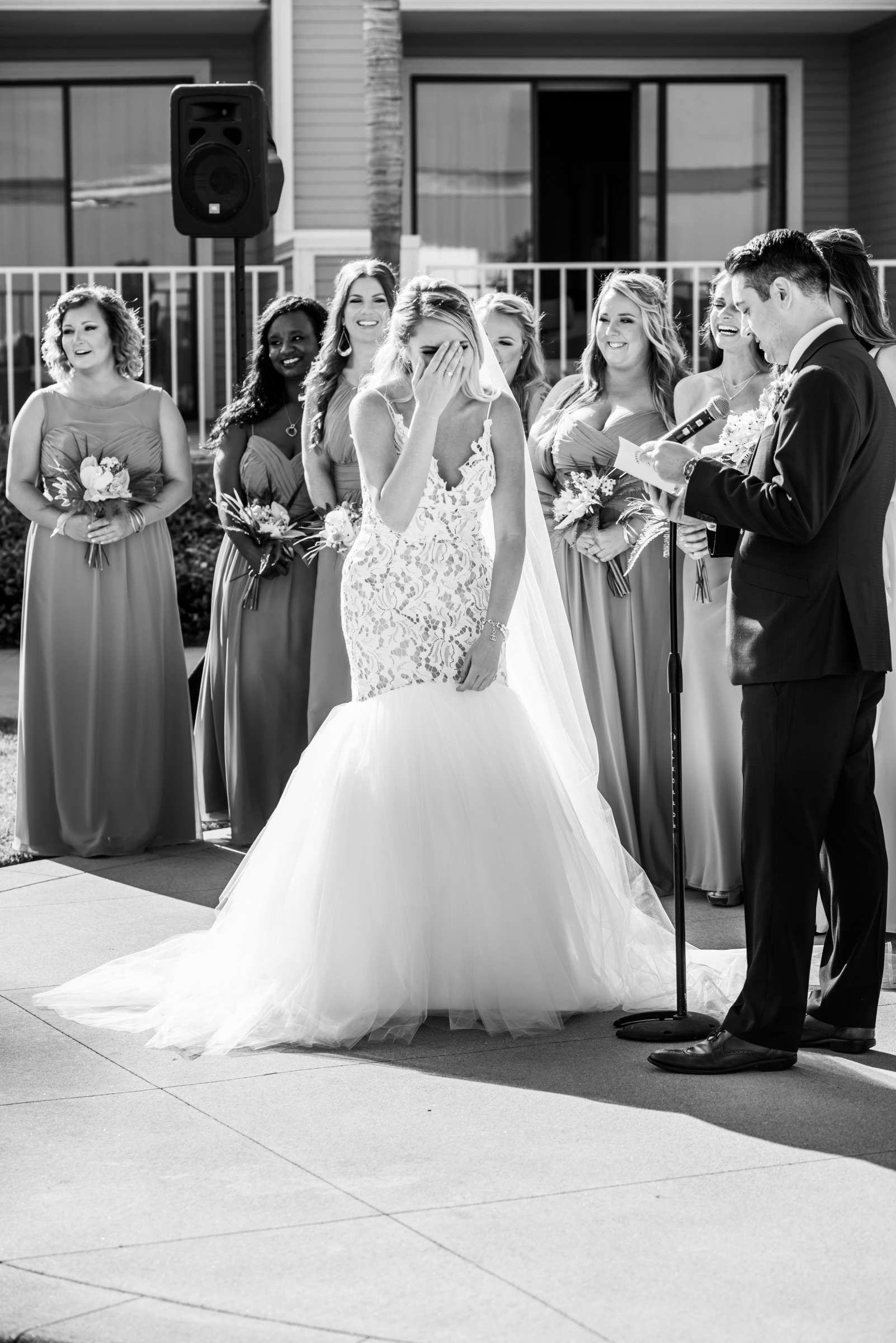 Coronado Island Marriott Resort & Spa Wedding coordinated by Bluestocking Weddings & Events, Ashleigh and Christopher Wedding Photo #64 by True Photography
