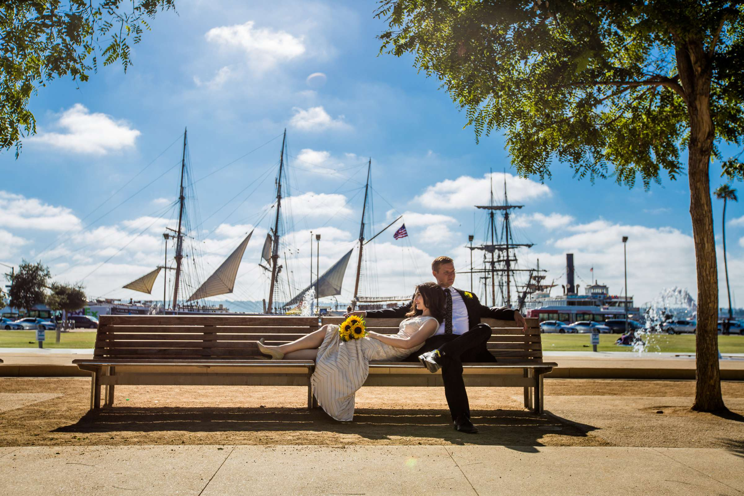 San Diego Courthouse Wedding, Erin and Douglas Wedding Photo #404325 by True Photography