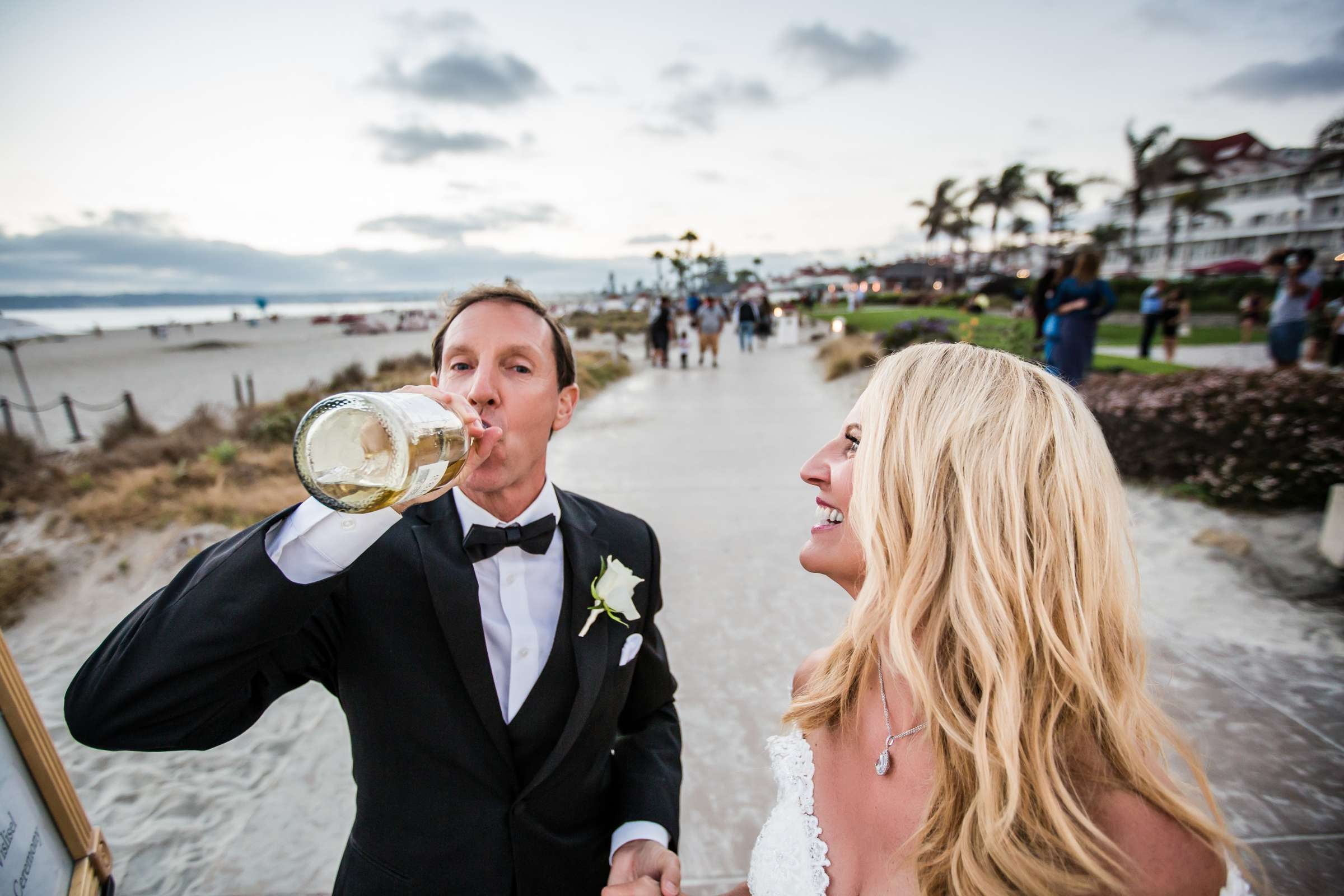 Hotel Del Coronado Wedding coordinated by Creative Affairs Inc, Diane and Paul Wedding Photo #4 by True Photography