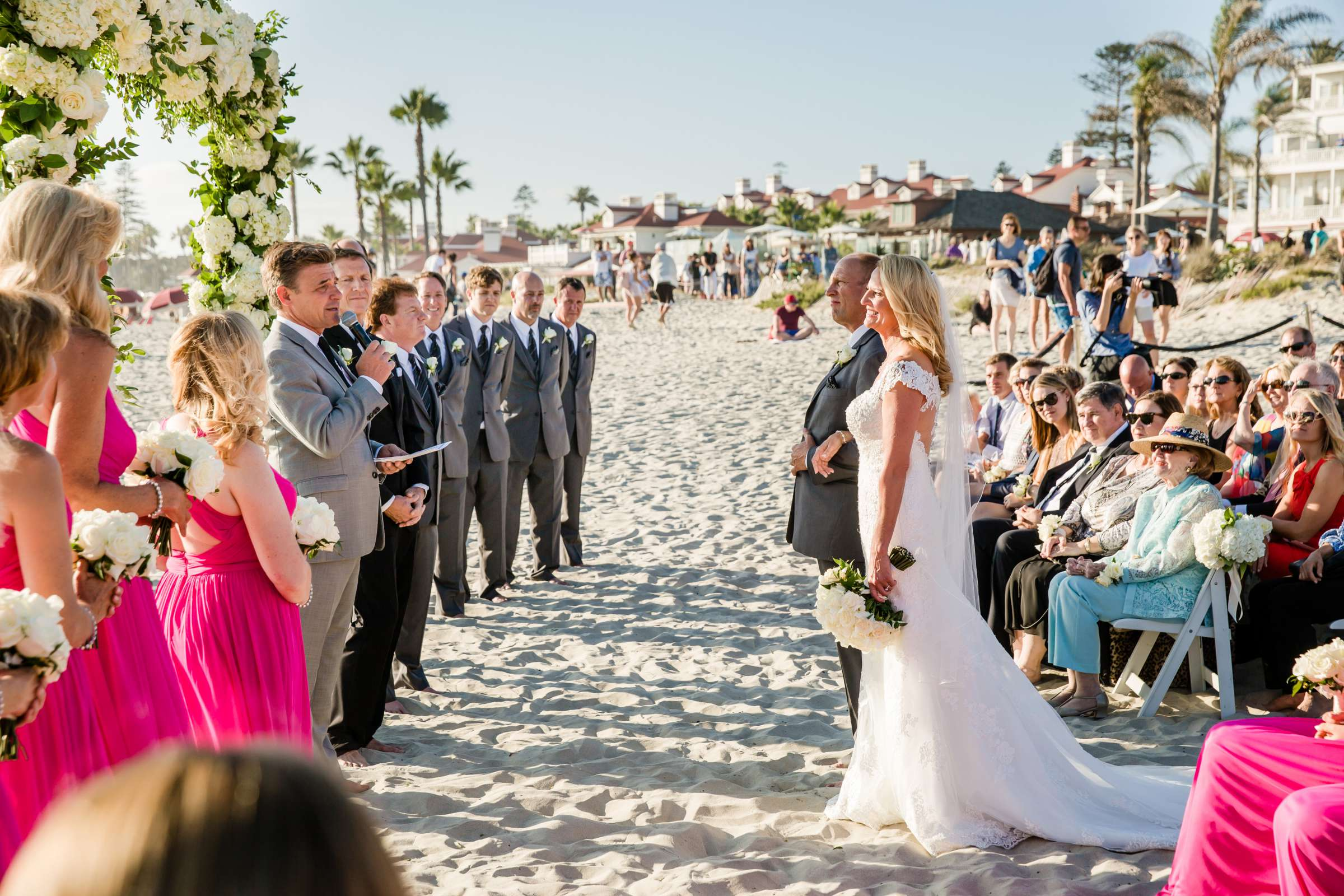 Hotel Del Coronado Wedding coordinated by Creative Affairs Inc, Diane and Paul Wedding Photo #55 by True Photography