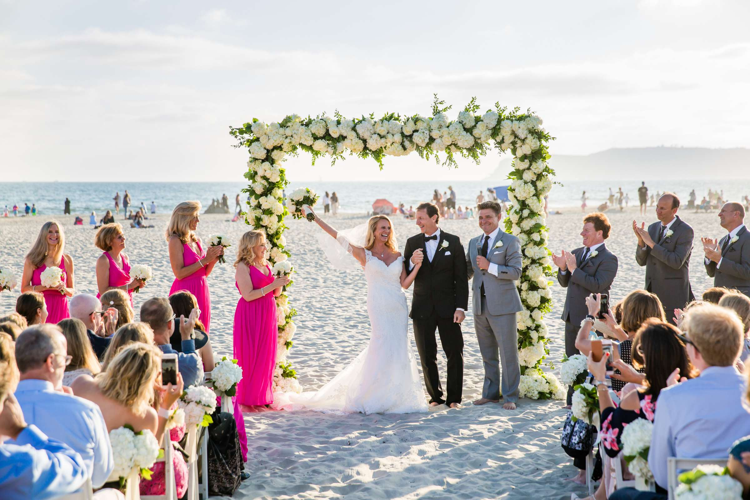 Hotel Del Coronado Wedding coordinated by Creative Affairs Inc, Diane and Paul Wedding Photo #66 by True Photography