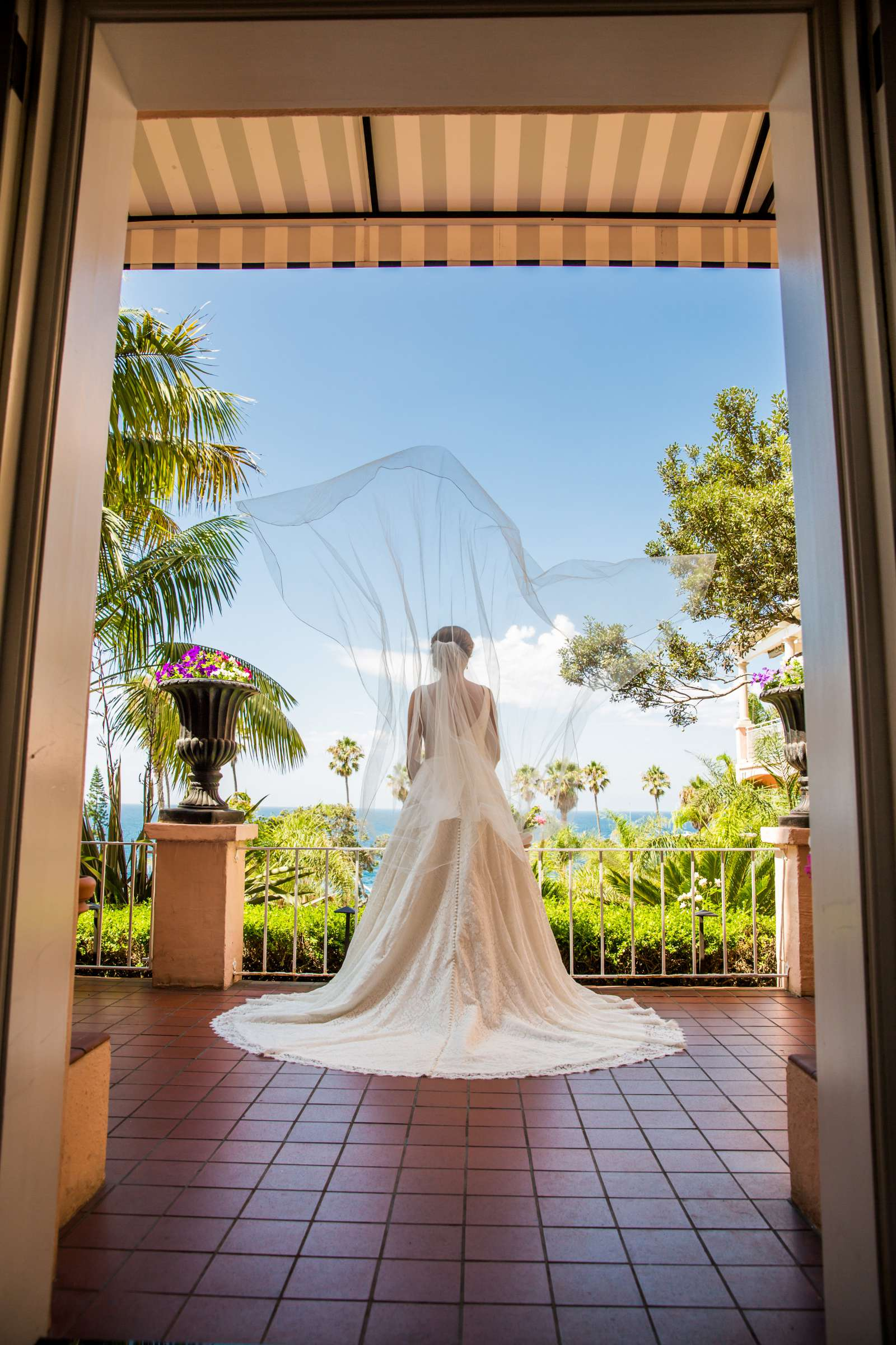 La Valencia Wedding coordinated by Francine Ribeau Events, Caitlin and Andrew Wedding Photo #9 by True Photography