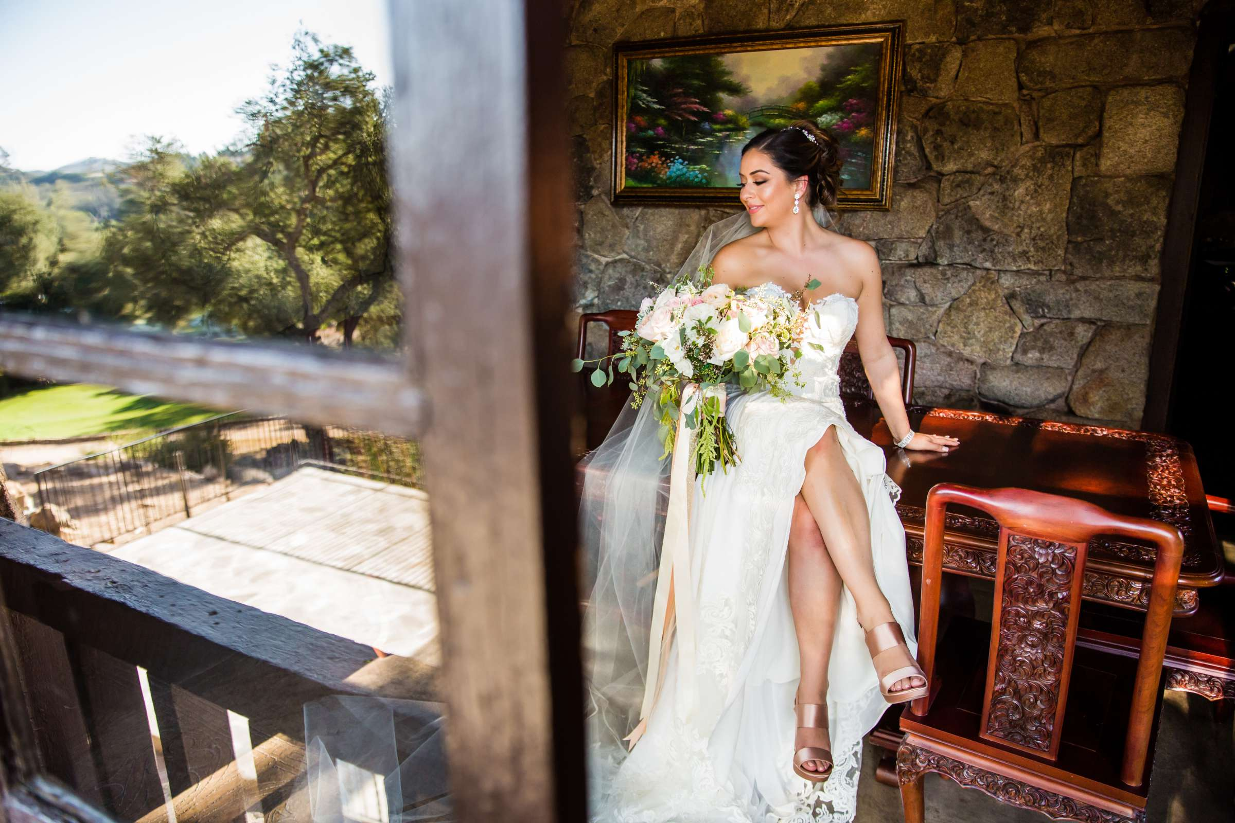 Mt Woodson Castle Wedding, Lauren and Travis Wedding Photo #5 by True Photography