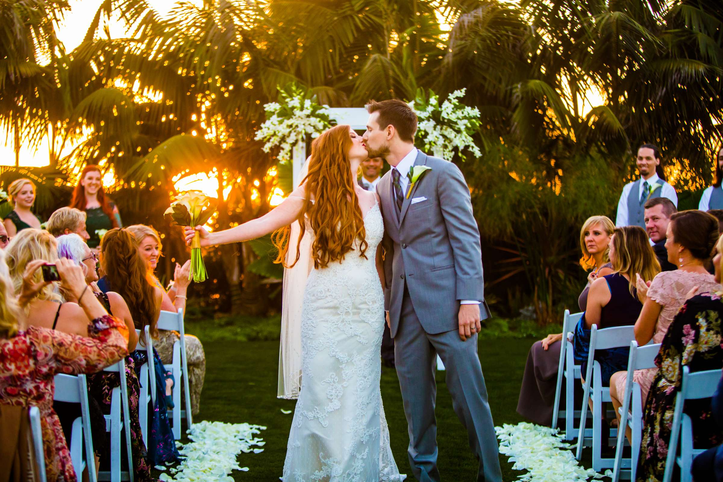 Cape Rey Carlsbad, A Hilton Resort Wedding coordinated by Holly Kalkin Weddings, Sarah and Bryce Wedding Photo #426240 by True Photography