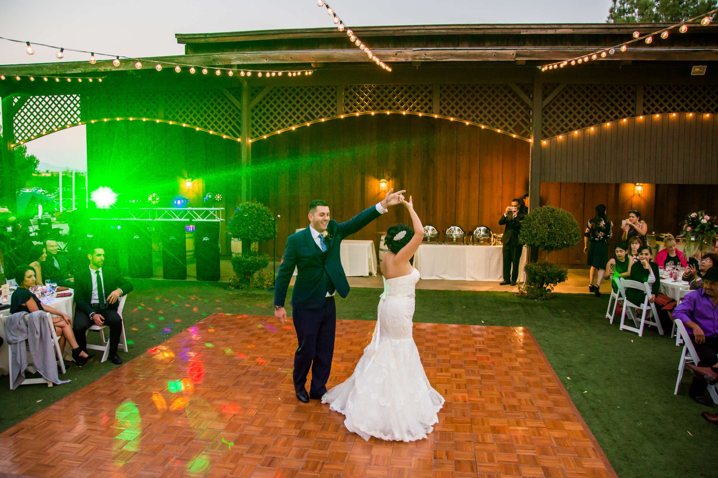 First Dance at Falkner Winery Wedding, Roxana and Cameron Wedding Photo #427441 by True Photography