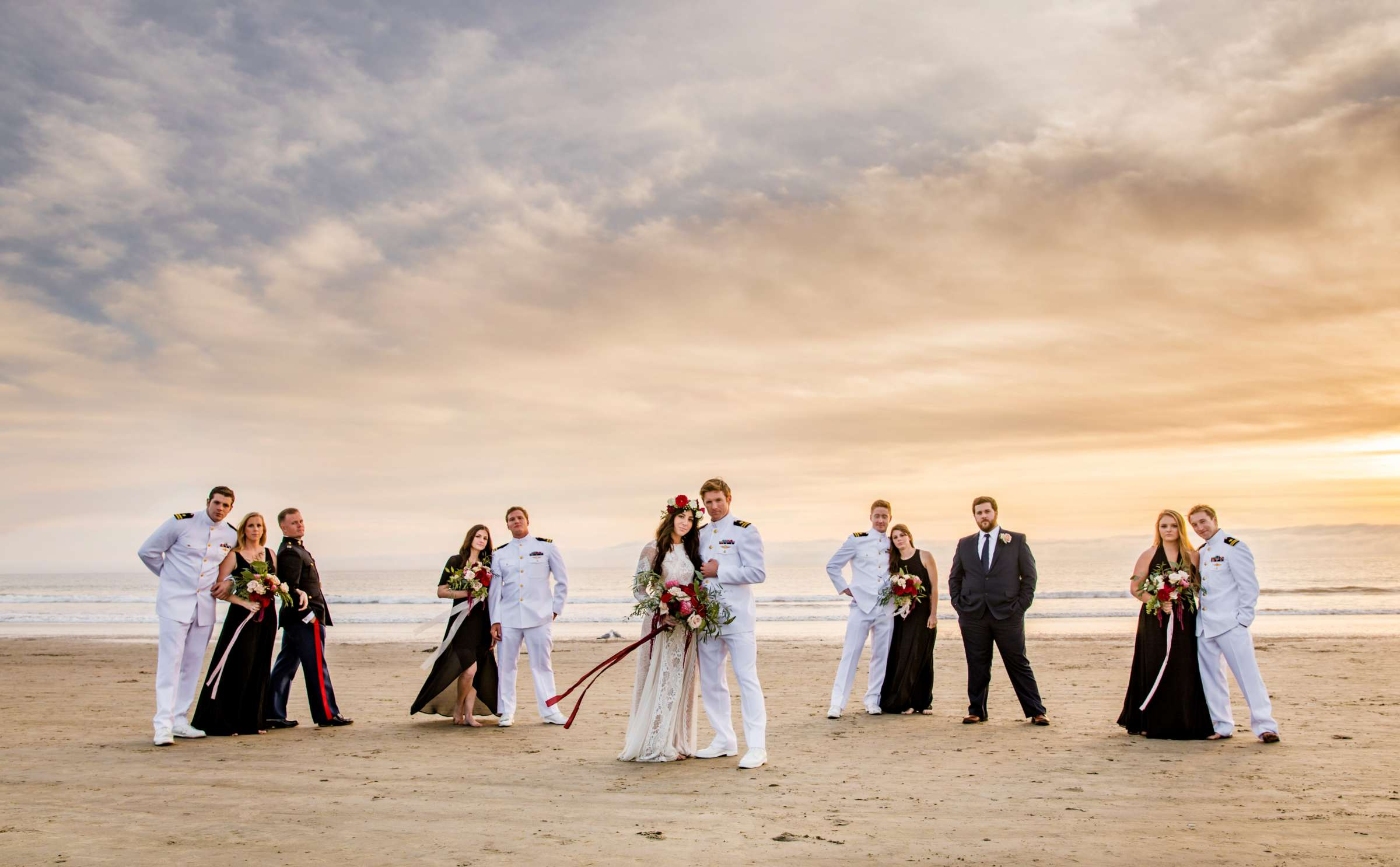 Bridal Party at Wedding, Christina and William Wedding Photo #6 by True Photography