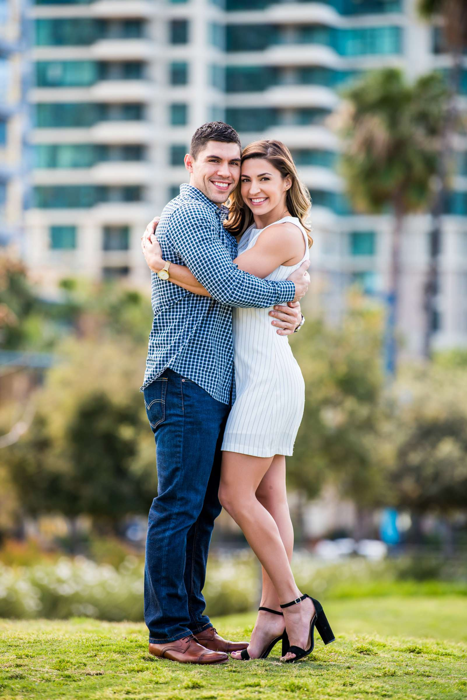 San Diego Courthouse Engagement, Amanda and Stephano Engagement Photo #19 by True Photography