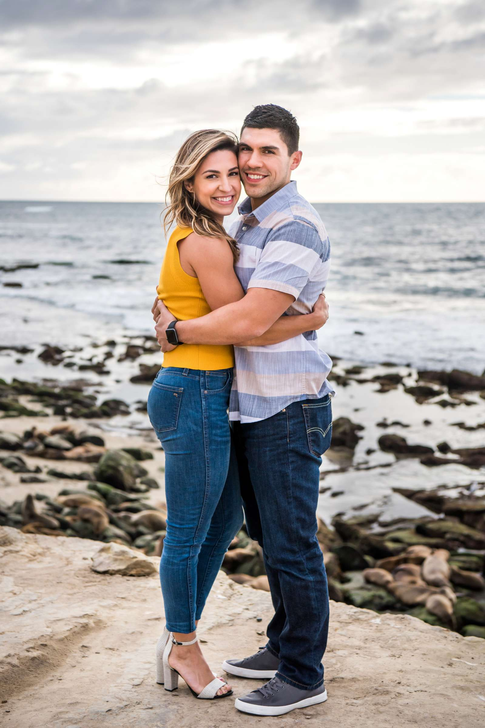 San Diego Courthouse Engagement, Amanda and Stephano Engagement Photo #24 by True Photography