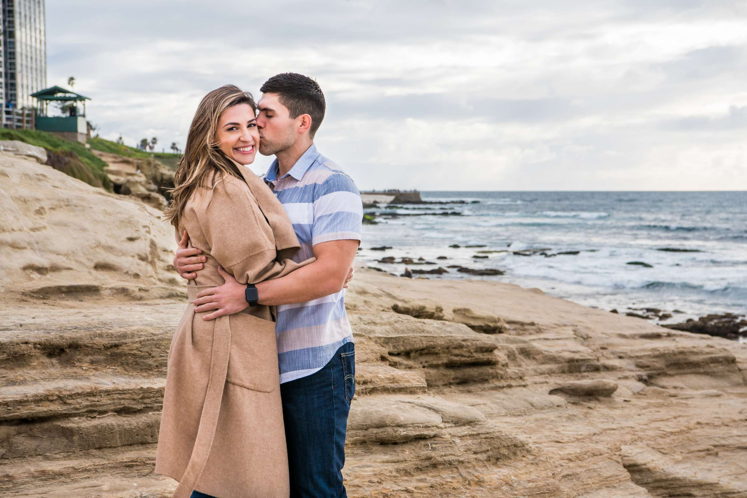 San Diego Courthouse Engagement, Amanda and Stephano Engagement Photo #28 by True Photography