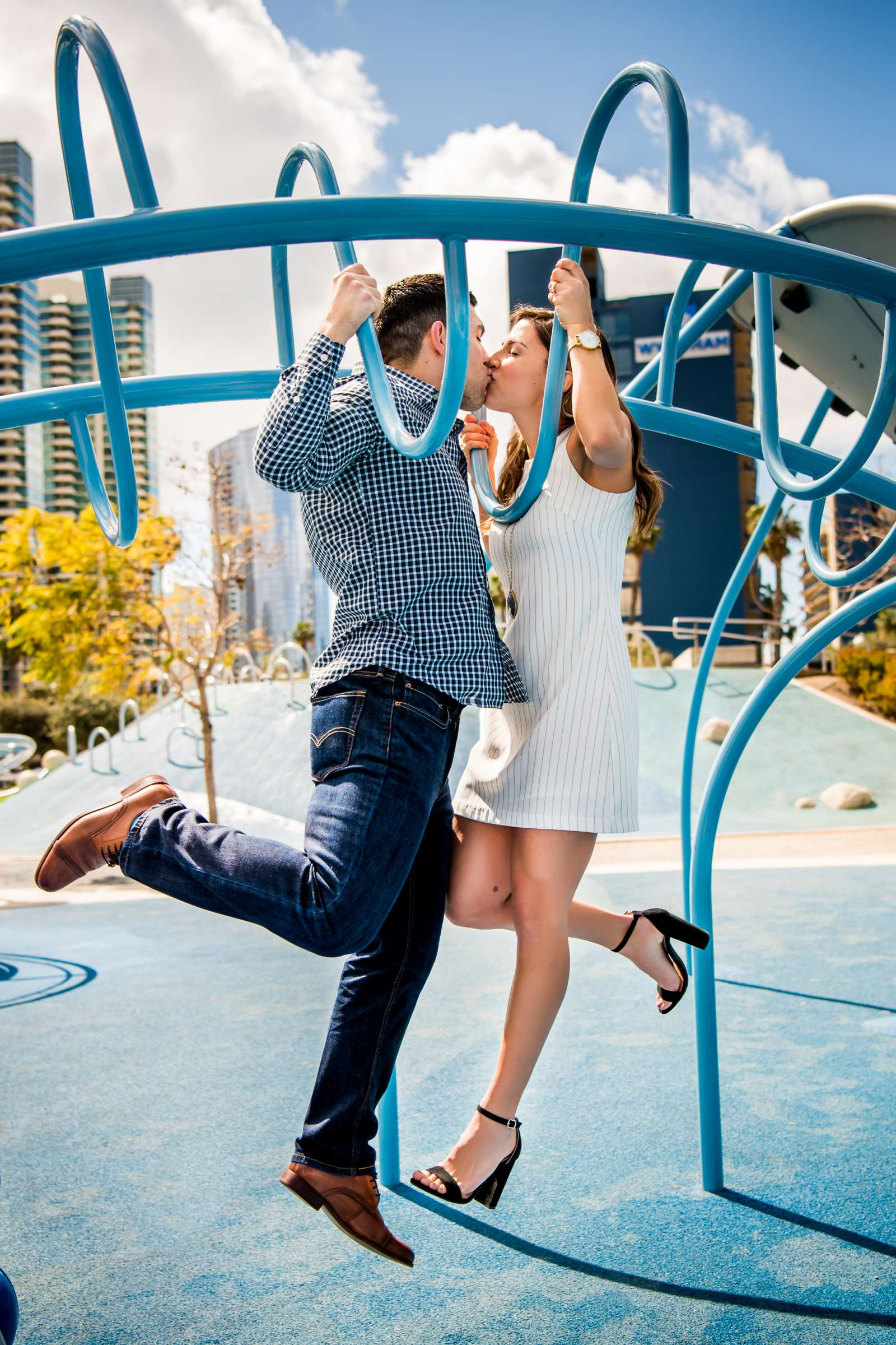San Diego Courthouse Engagement, Amanda and Stephano Engagement Photo #39 by True Photography
