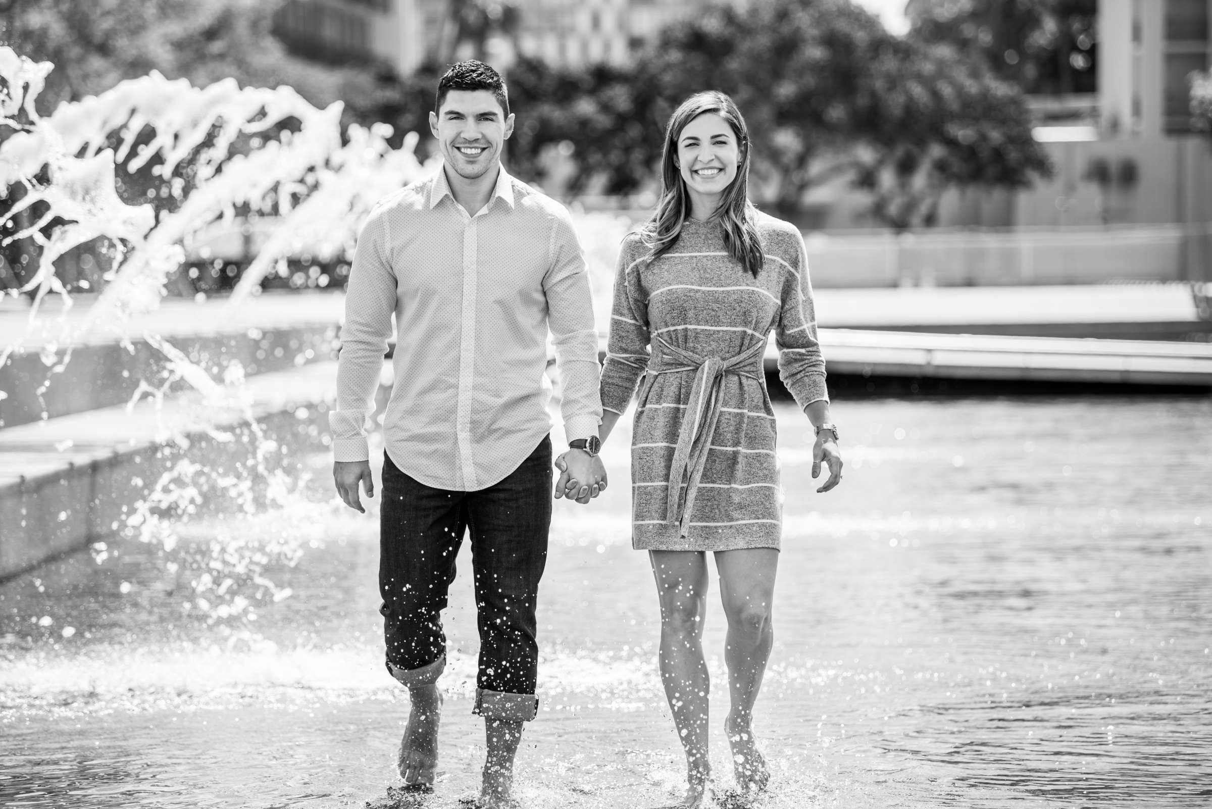 San Diego Courthouse Engagement, Amanda and Stephano Engagement Photo #42 by True Photography