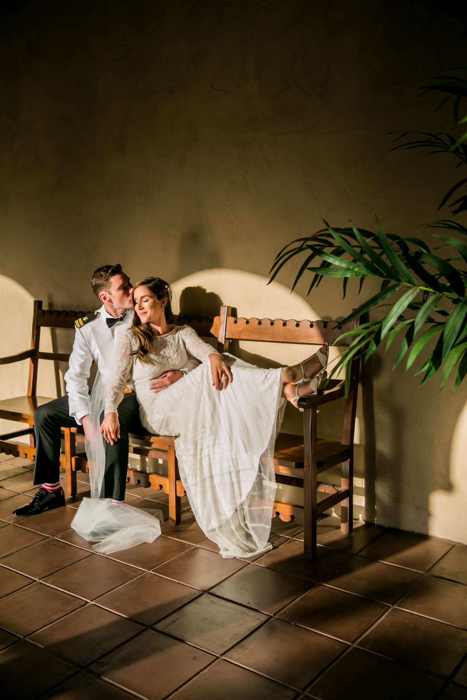 Artsy moment at The Prado Wedding coordinated by First Comes Love Weddings & Events, Megan and Rick Wedding Photo #1 by True Photography