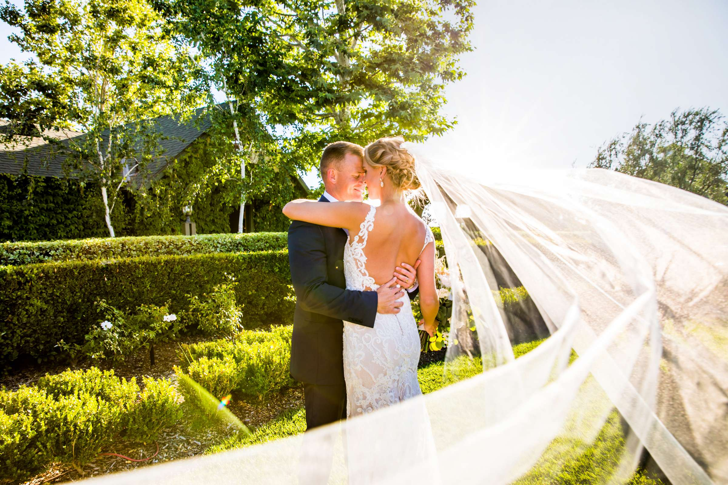 Ponte Estate Winery Wedding, Kelsey and Andrew Wedding Photo #1 by True Photography