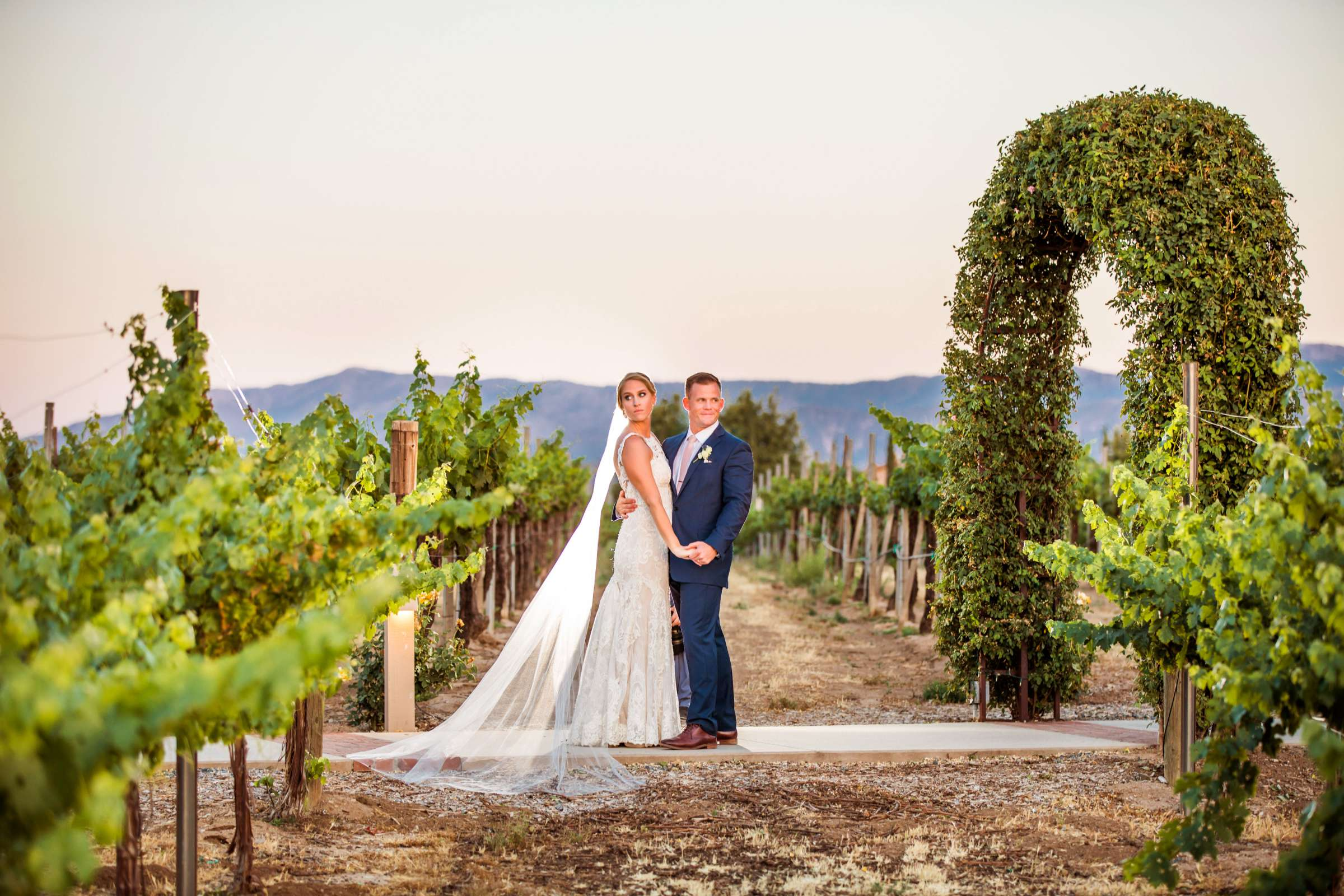 Ponte Estate Winery Wedding, Kelsey and Andrew Wedding Photo #22 by True Photography