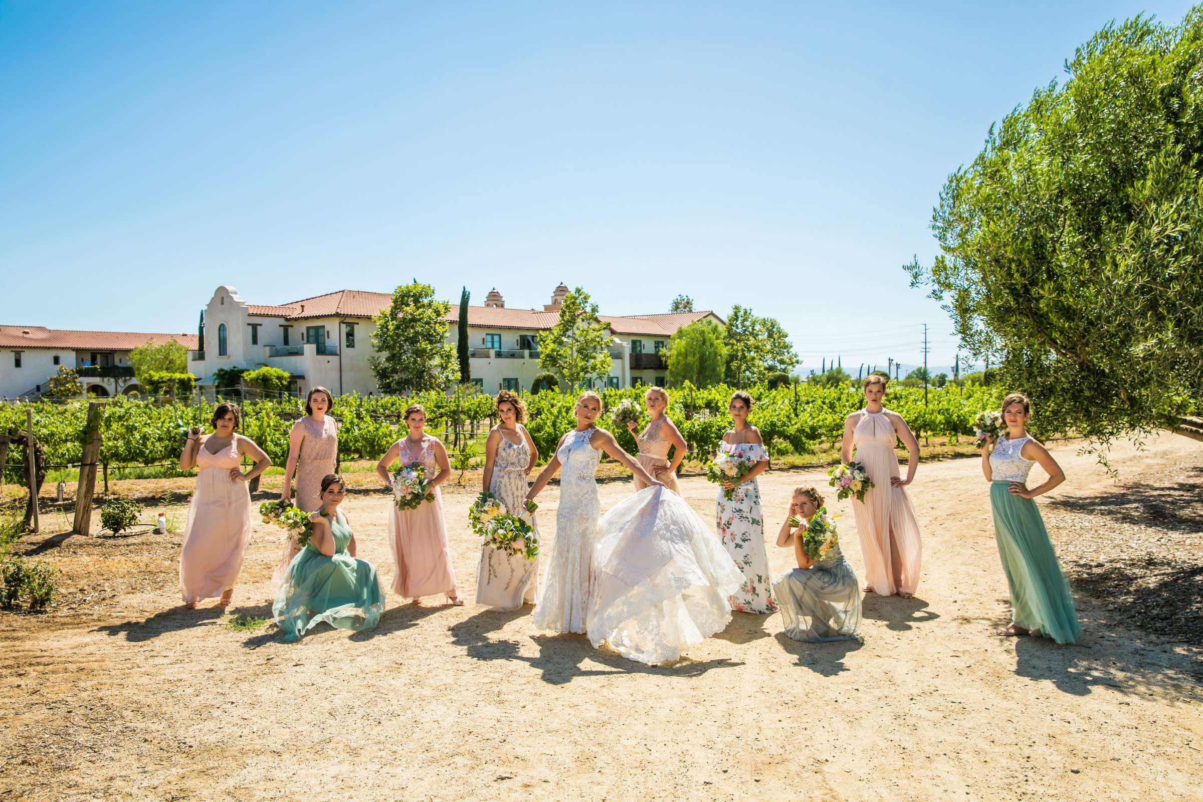 Ponte Estate Winery Wedding, Kelsey and Andrew Wedding Photo #47 by True Photography