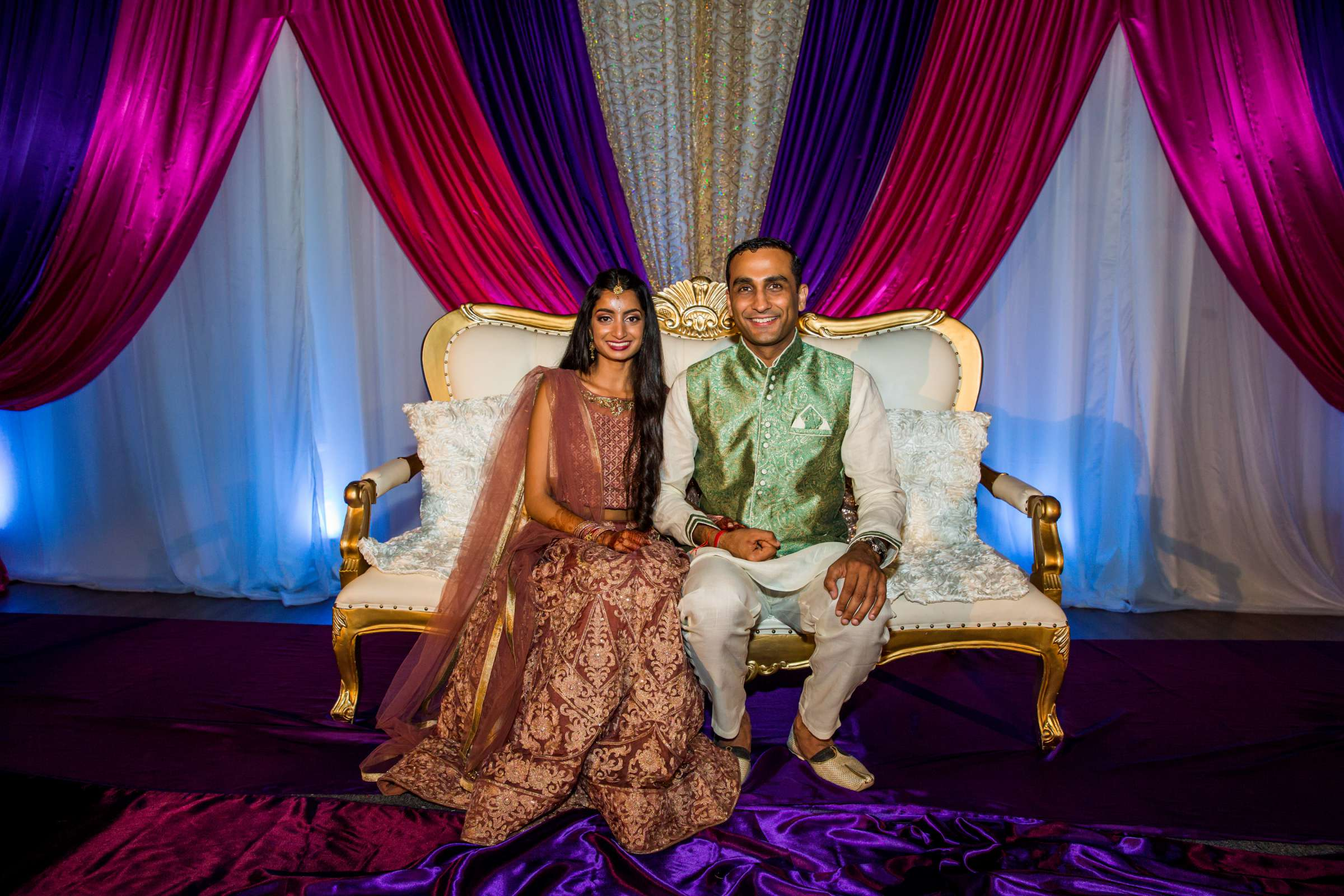 The Westin Carlsbad Resort and Spa Wedding coordinated by Shilpa Patel Events, Ami and Amit Wedding Photo #128 by True Photography