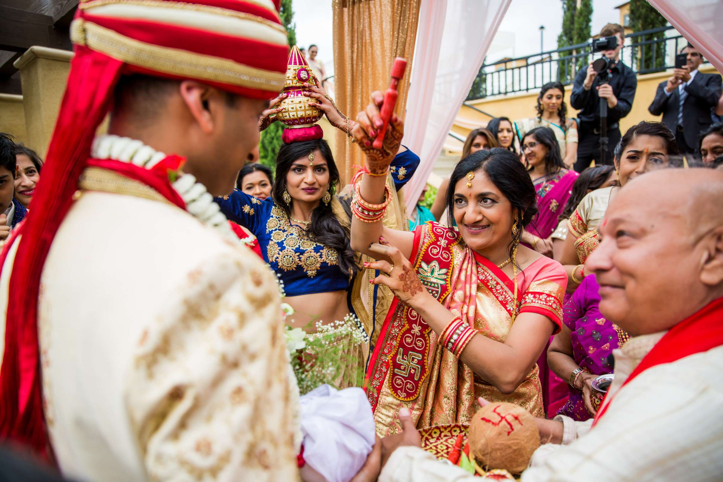 The Westin Carlsbad Resort and Spa Wedding coordinated by Shilpa Patel Events, Ami and Amit Wedding Photo #199 by True Photography