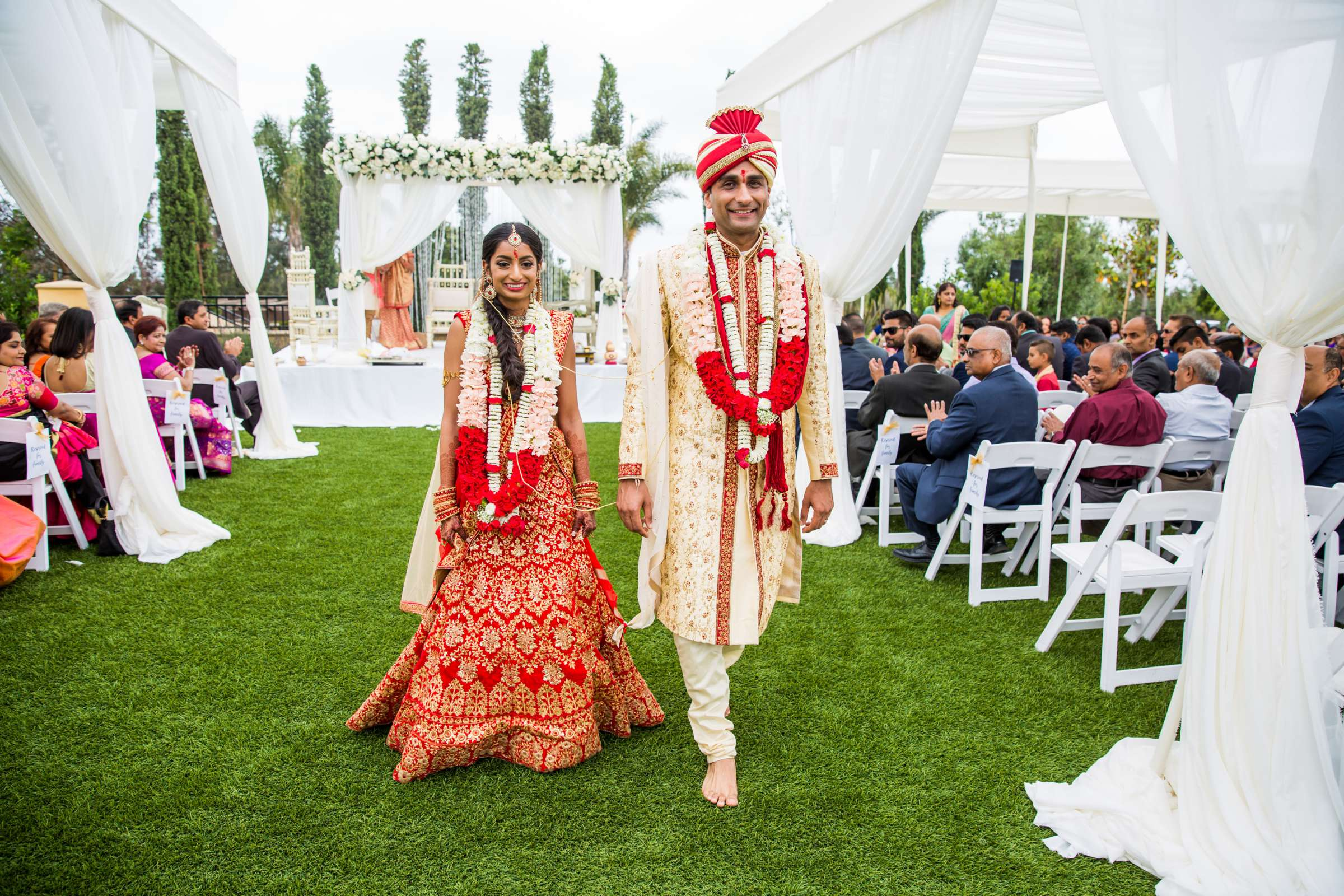 The Westin Carlsbad Resort and Spa Wedding coordinated by Shilpa Patel Events, Ami and Amit Wedding Photo #215 by True Photography