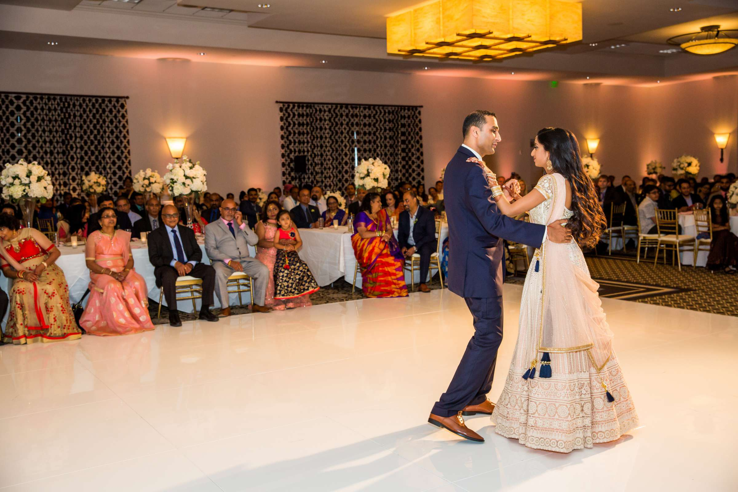 The Westin Carlsbad Resort and Spa Wedding coordinated by Shilpa Patel Events, Ami and Amit Wedding Photo #227 by True Photography