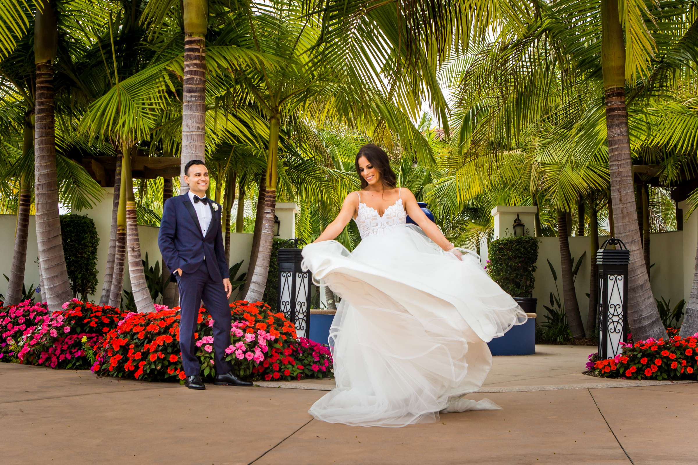 Omni La Costa Resort & Spa Wedding coordinated by Fabulous Two Design, Kristyn and Mani Wedding Photo #1 by True Photography