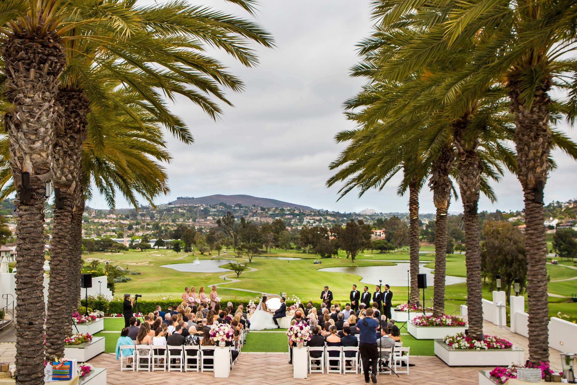 Omni La Costa Resort & Spa Wedding coordinated by Fabulous Two Design, Kristyn and Mani Wedding Photo #96 by True Photography