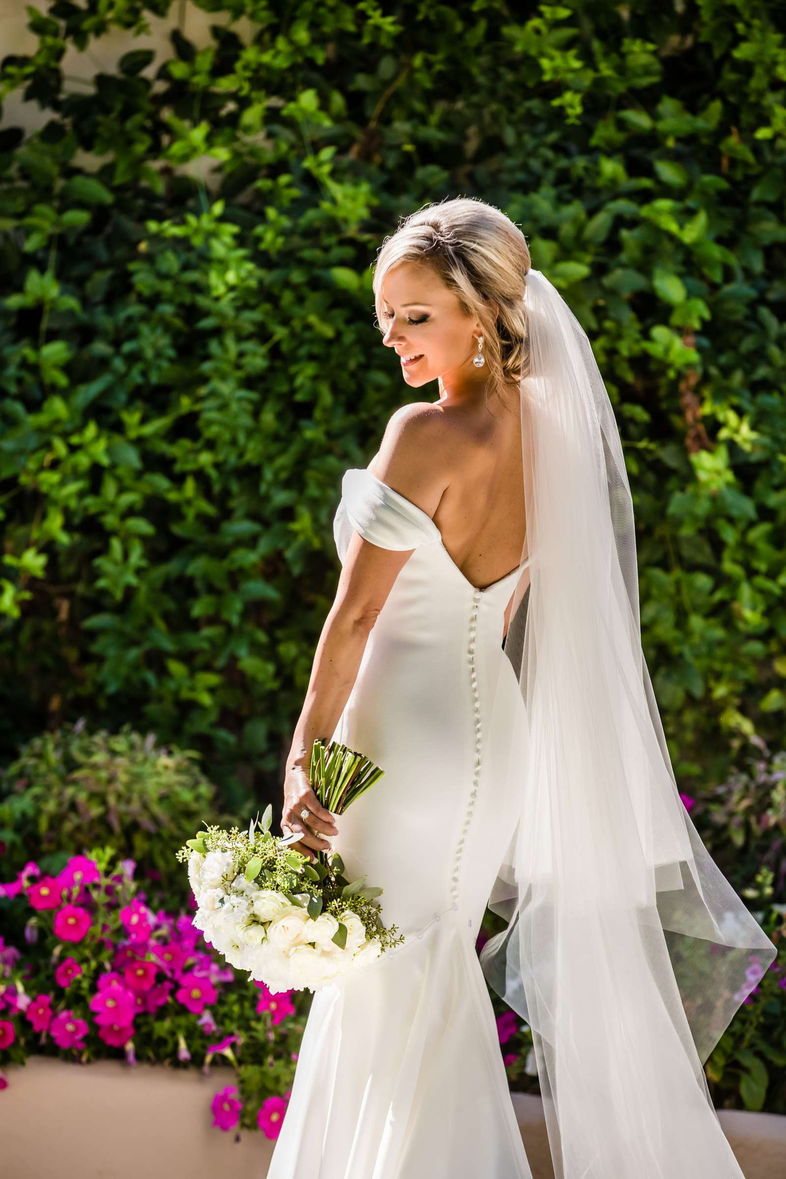 Bride at Fairbanks Ranch Country Club Wedding coordinated by Blissful Weddings & Co., Kristina and Allan Wedding Photo #481645 by True Photography