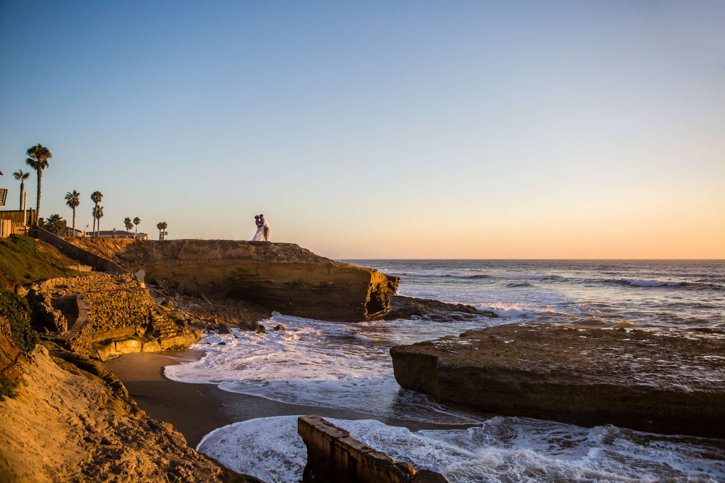 Landscapes at The Inn at Sunset Cliffs Wedding, Melinda and Benjamin Wedding Photo #1 by True Photography