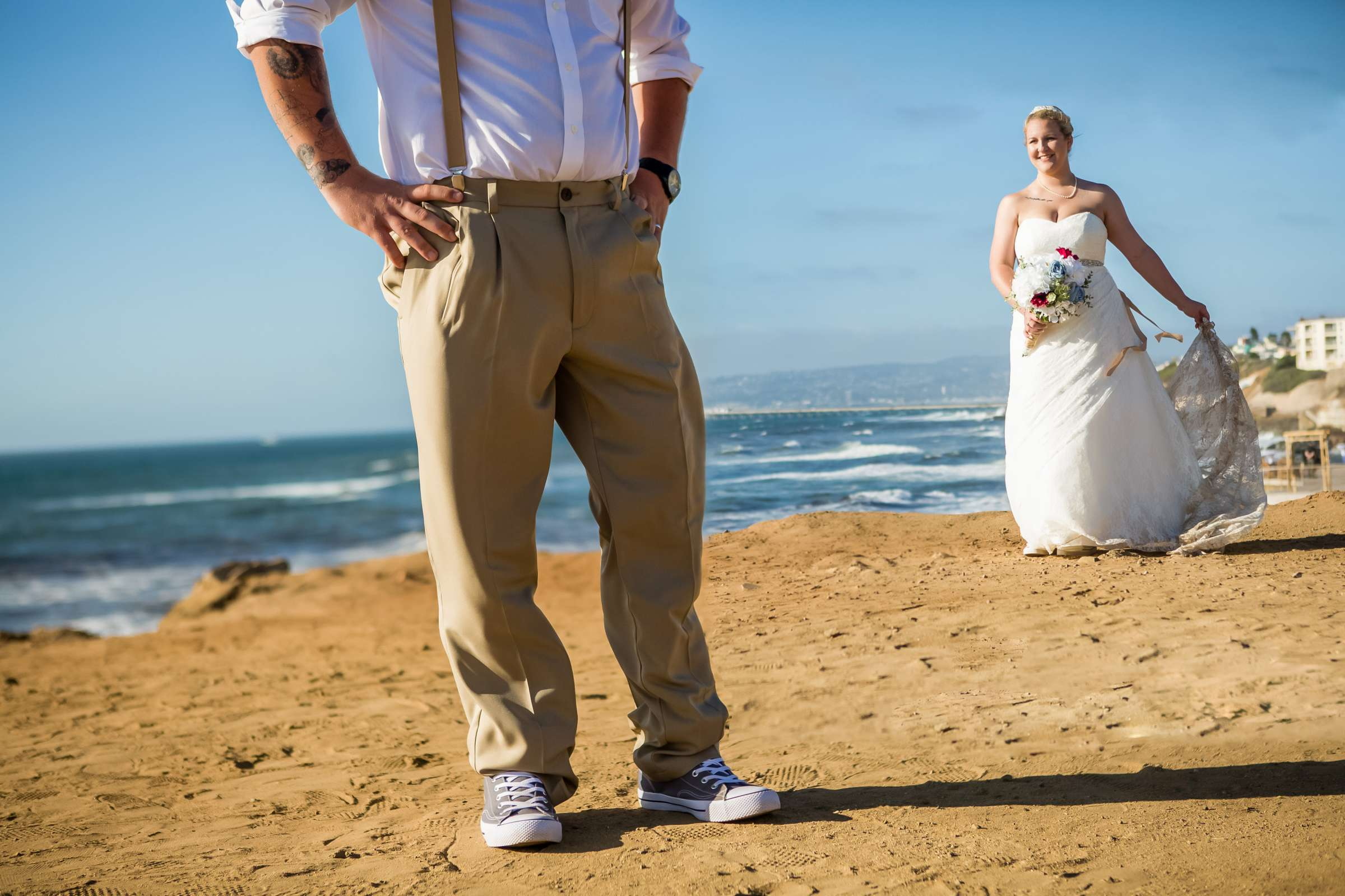 The Inn at Sunset Cliffs Wedding, Melinda and Benjamin Wedding Photo #2 by True Photography