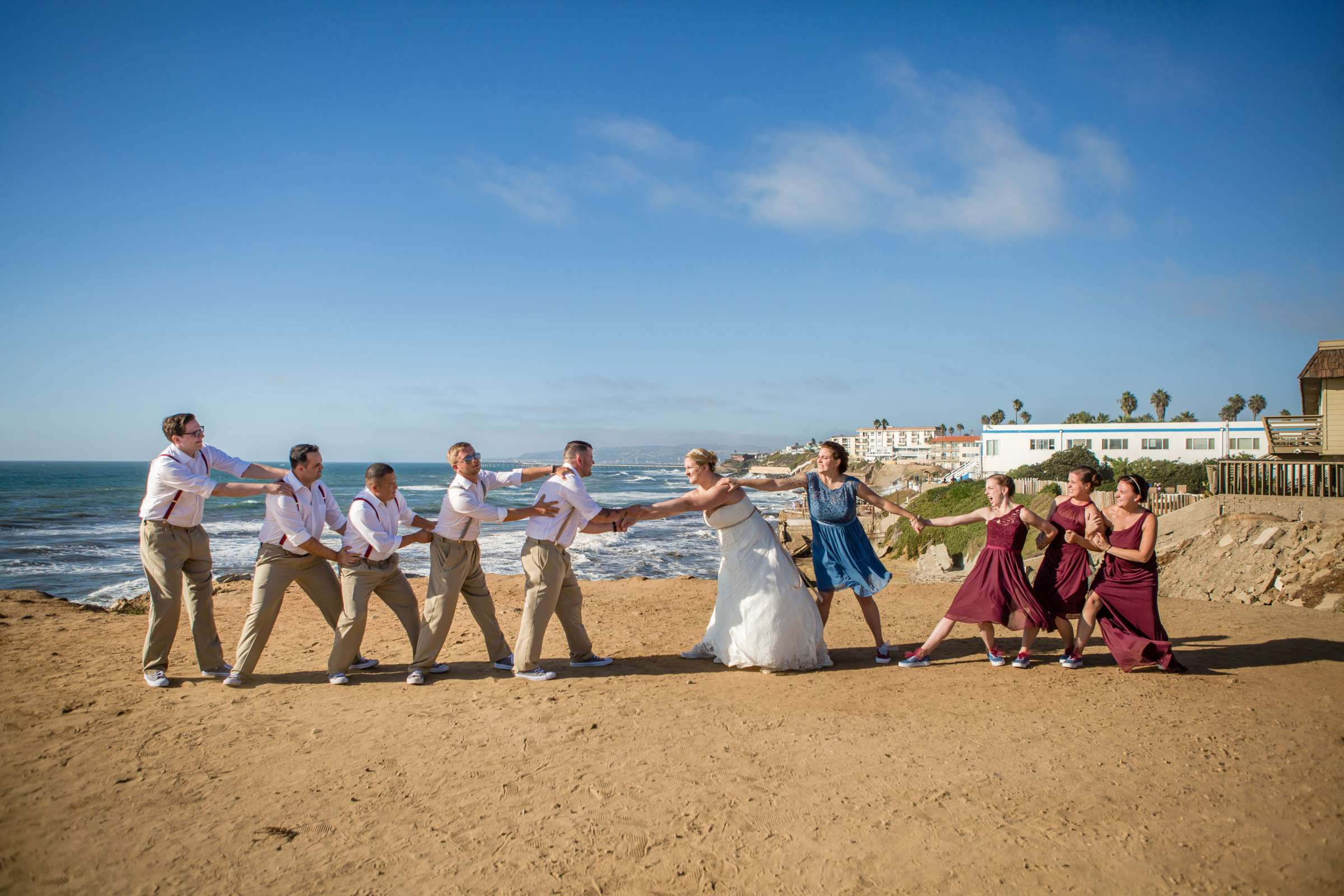 The Inn at Sunset Cliffs Wedding, Melinda and Benjamin Wedding Photo #11 by True Photography