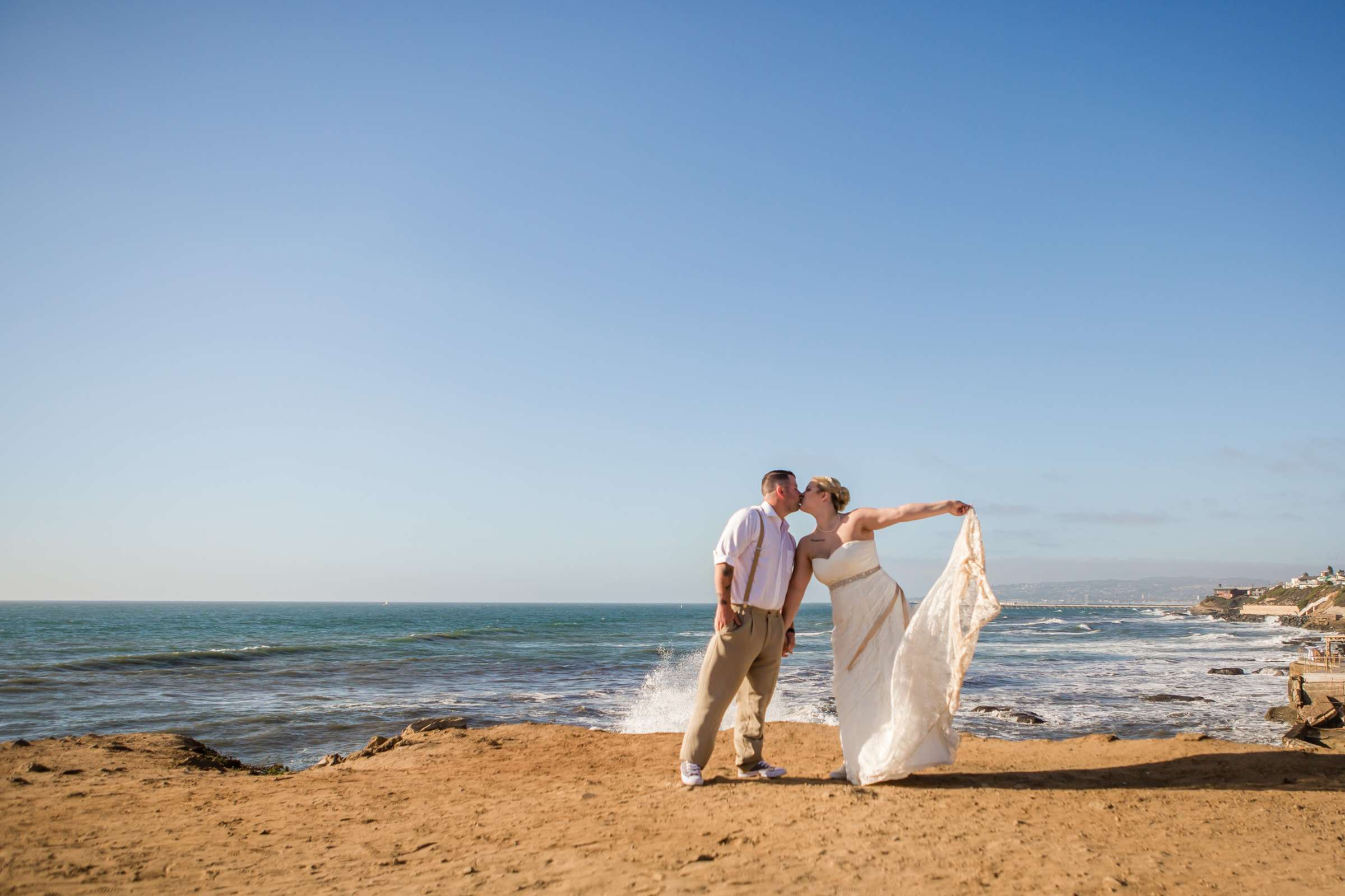 The Inn at Sunset Cliffs Wedding, Melinda and Benjamin Wedding Photo #17 by True Photography