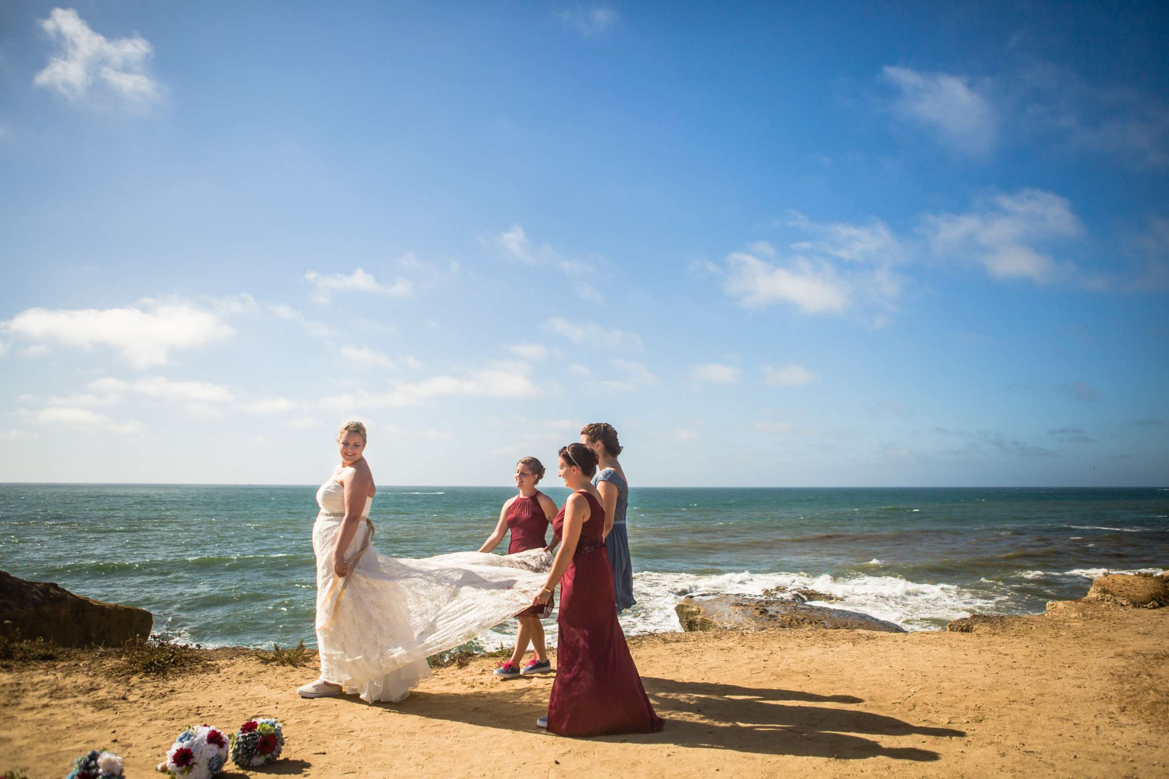 The Inn at Sunset Cliffs Wedding, Melinda and Benjamin Wedding Photo #74 by True Photography