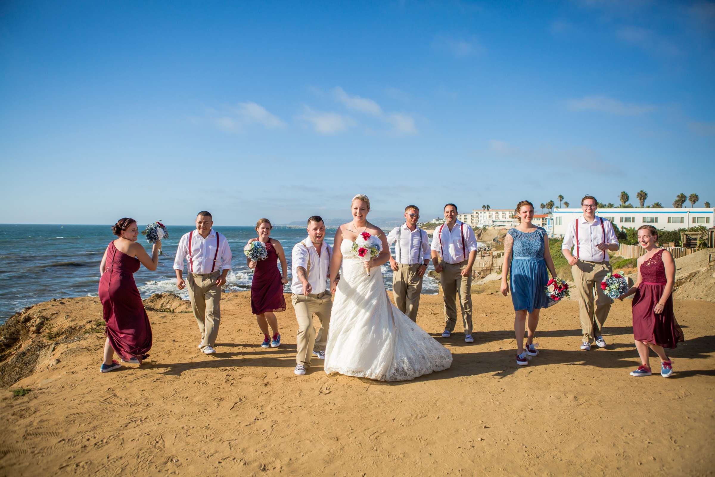 The Inn at Sunset Cliffs Wedding, Melinda and Benjamin Wedding Photo #79 by True Photography