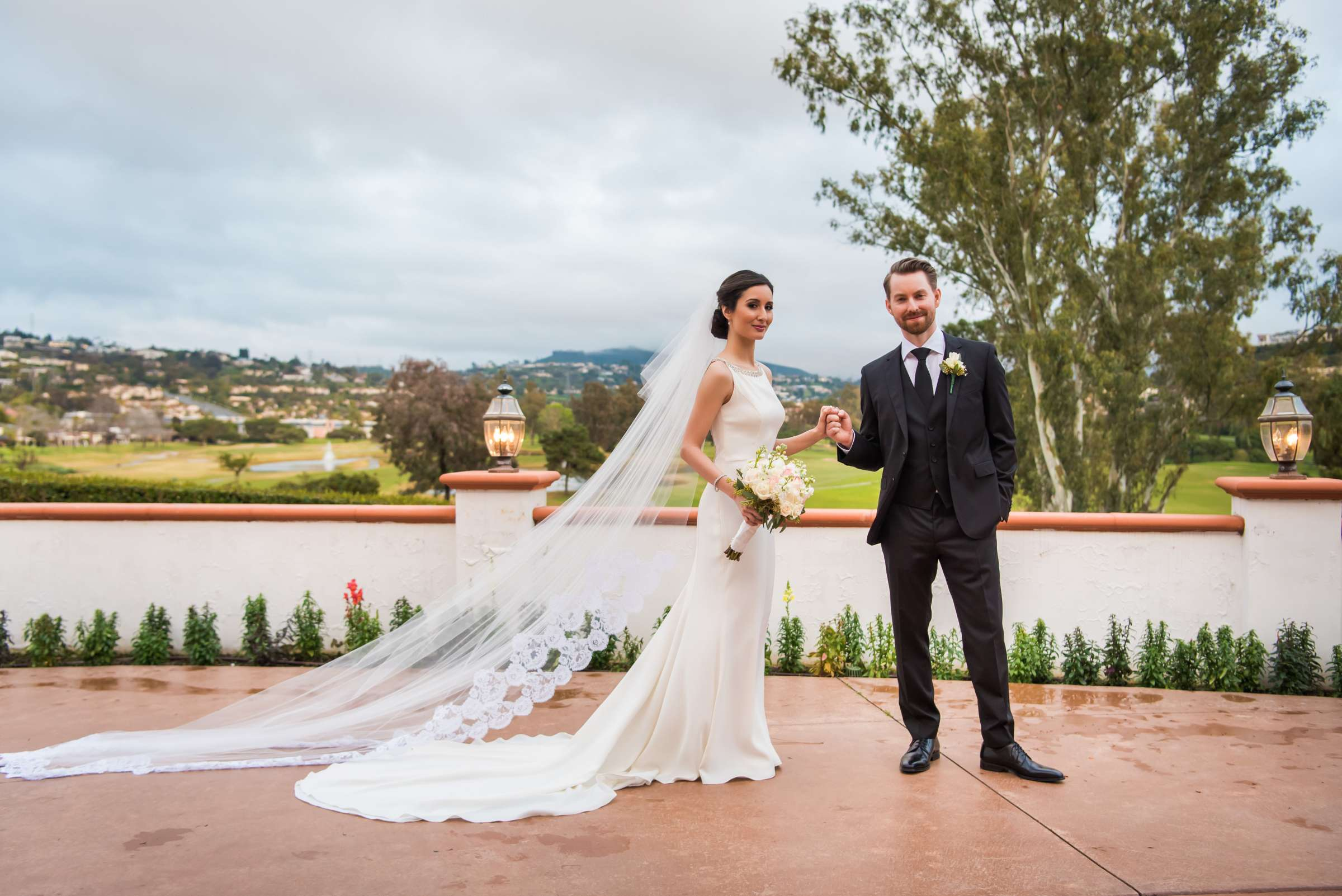Omni La Costa Resort & Spa Wedding coordinated by Sweet Blossom Weddings, Sarah and Daniel Wedding Photo #18 by True Photography
