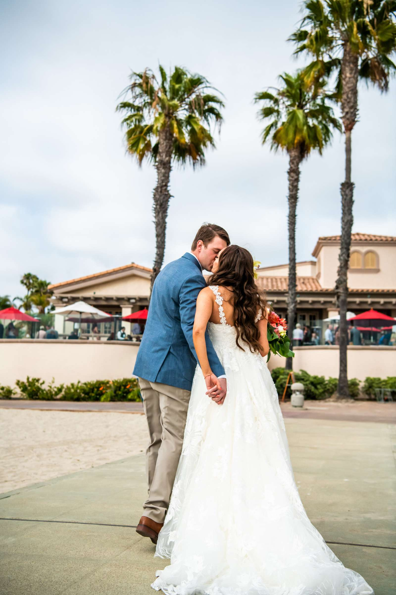 San Diego Mission Bay Resort Wedding coordinated by Cafe Au Love, Lauren and Adam Wedding Photo #7 by True Photography