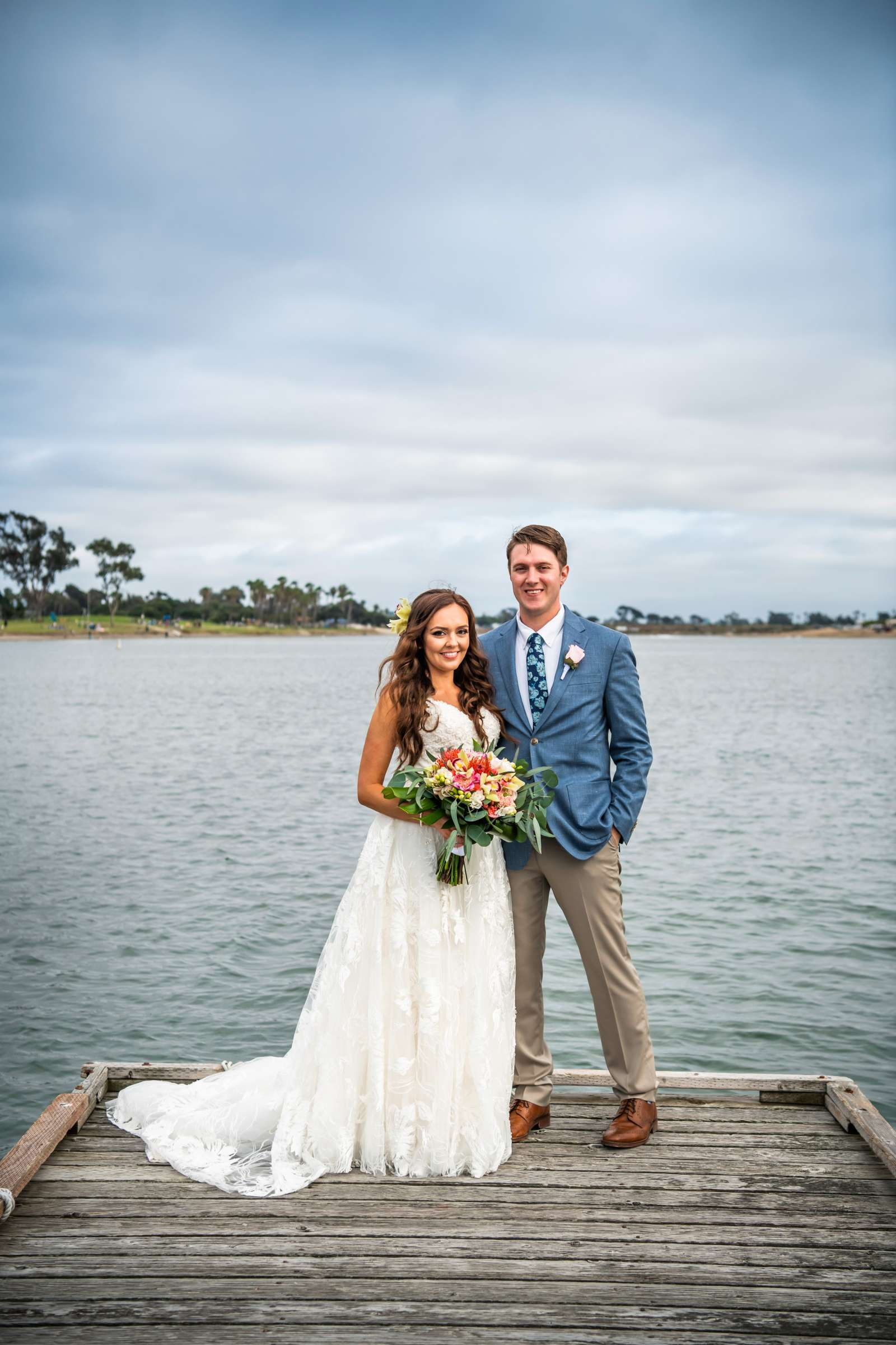 San Diego Mission Bay Resort Wedding coordinated by Cafe Au Love, Lauren and Adam Wedding Photo #9 by True Photography