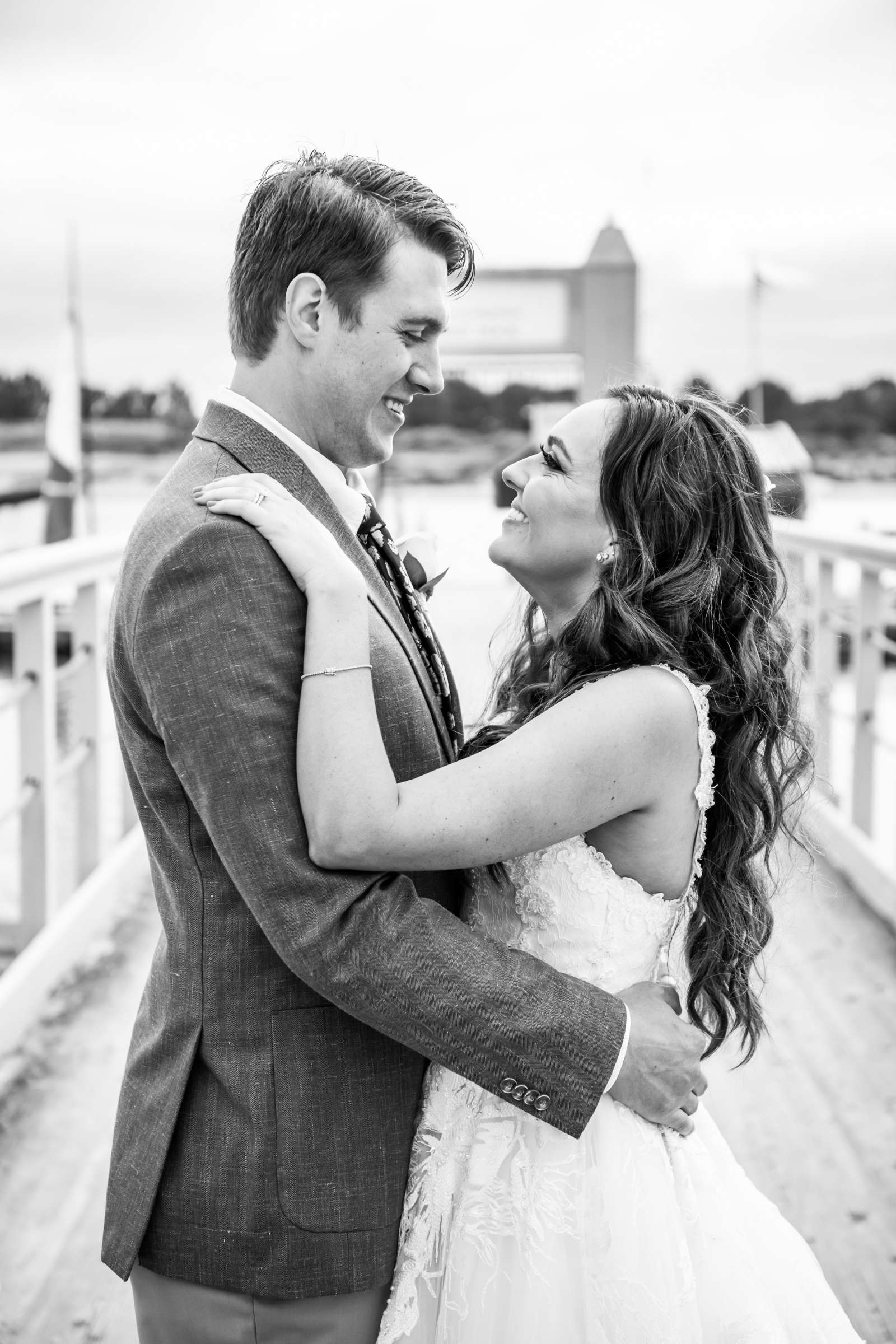San Diego Mission Bay Resort Wedding coordinated by Cafe Au Love, Lauren and Adam Wedding Photo #11 by True Photography