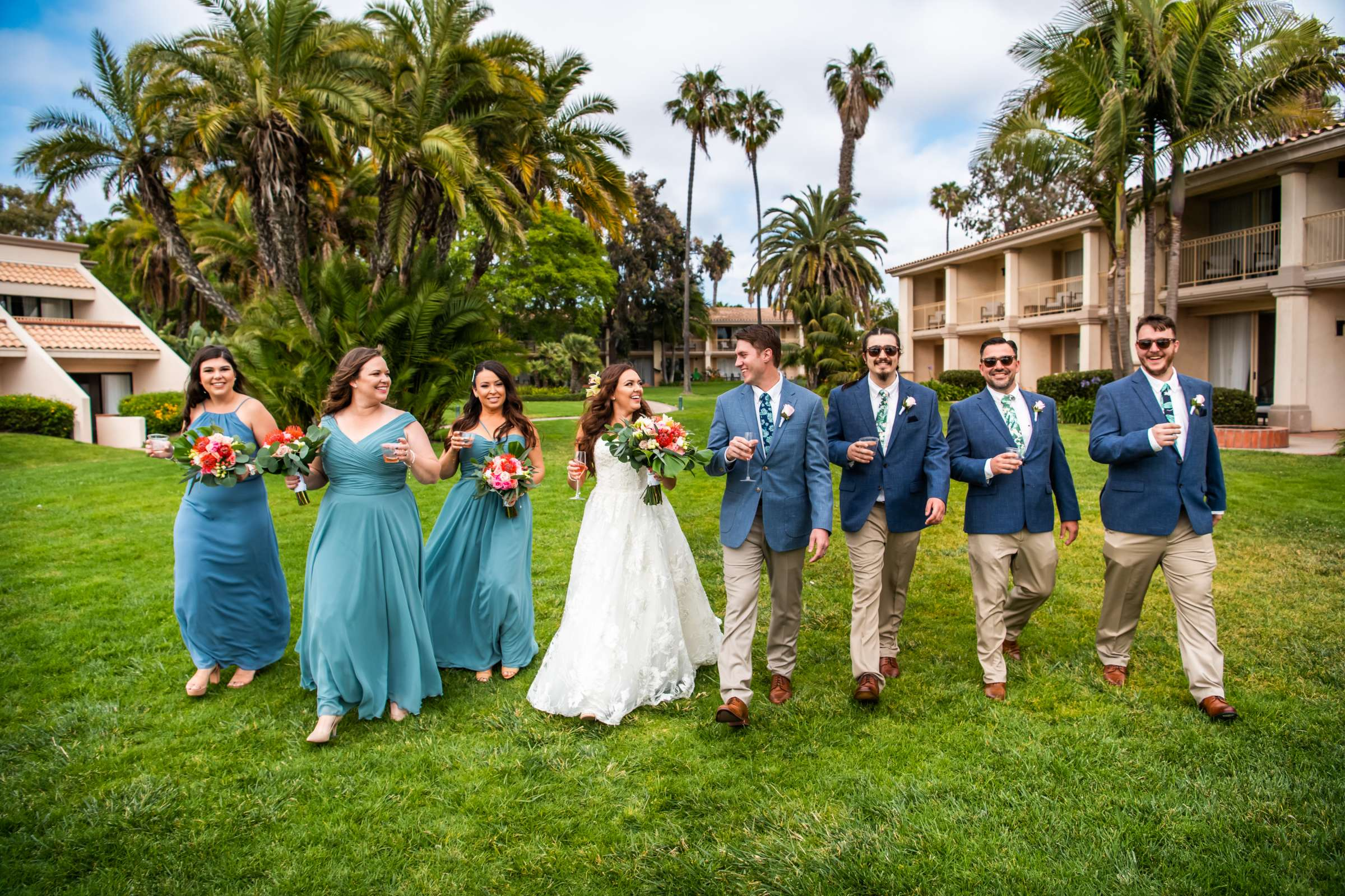 San Diego Mission Bay Resort Wedding coordinated by Cafe Au Love, Lauren and Adam Wedding Photo #15 by True Photography