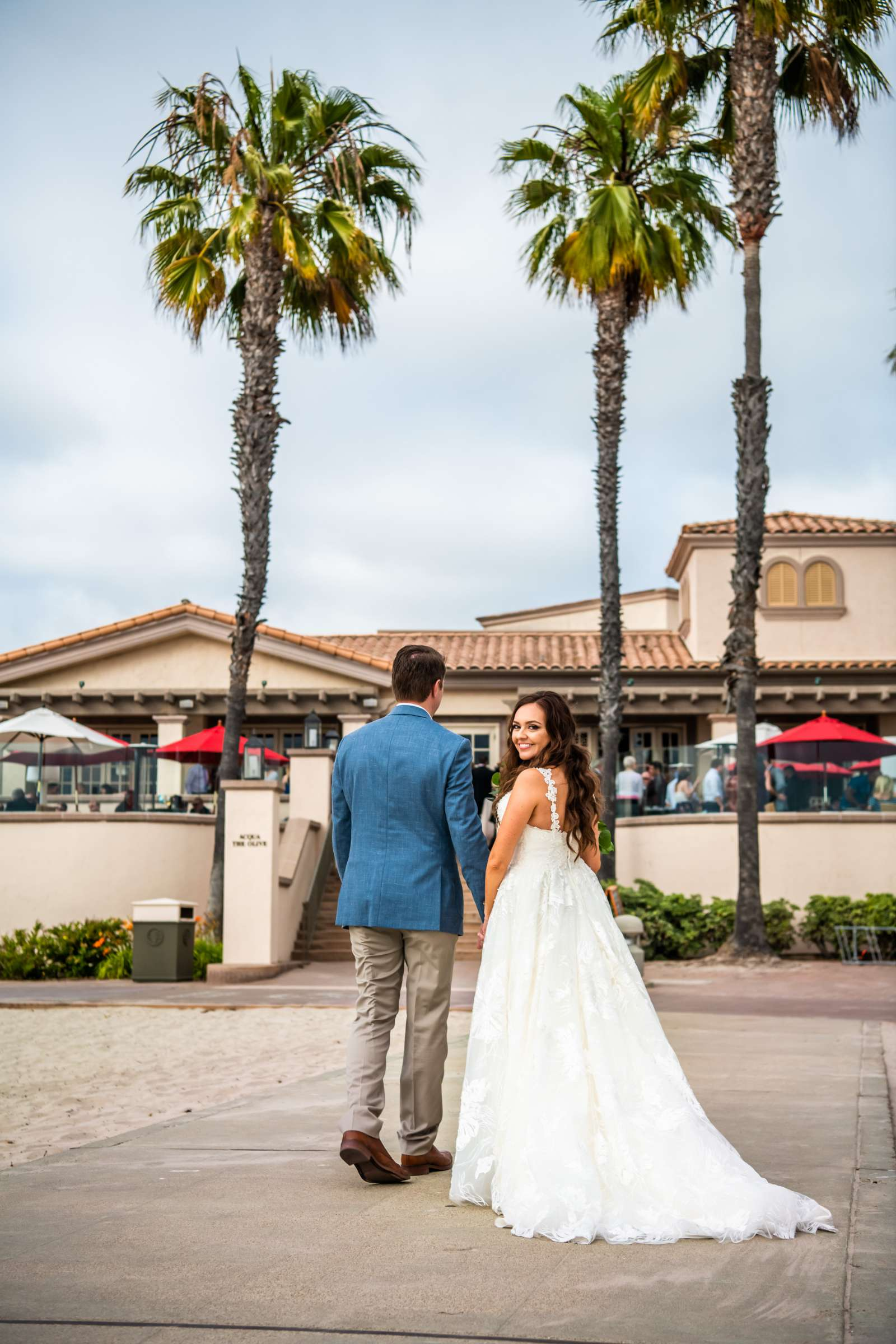 San Diego Mission Bay Resort Wedding coordinated by Cafe Au Love, Lauren and Adam Wedding Photo #20 by True Photography