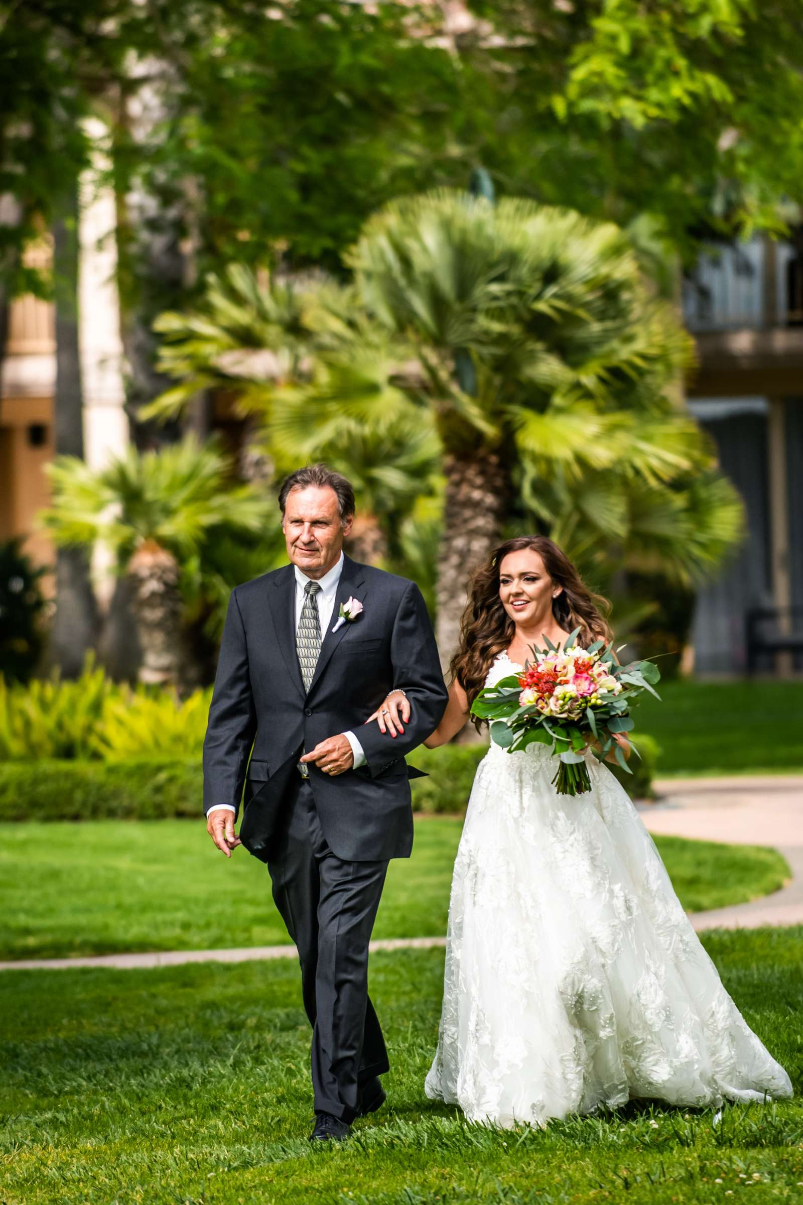 San Diego Mission Bay Resort Wedding coordinated by Cafe Au Love, Lauren and Adam Wedding Photo #60 by True Photography