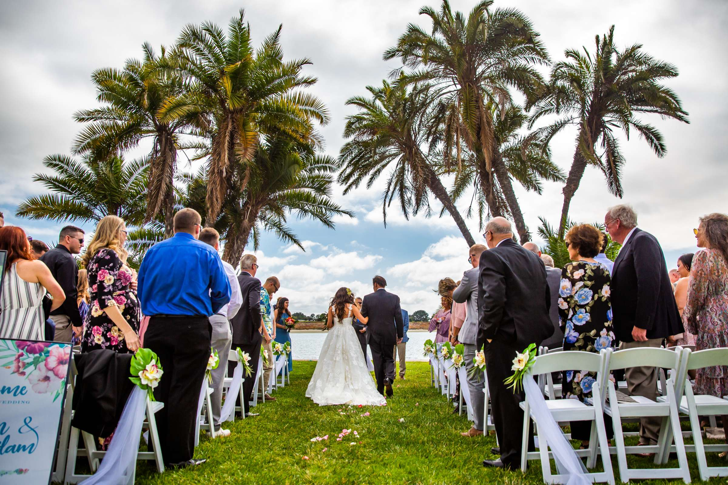 San Diego Mission Bay Resort Wedding coordinated by Cafe Au Love, Lauren and Adam Wedding Photo #61 by True Photography
