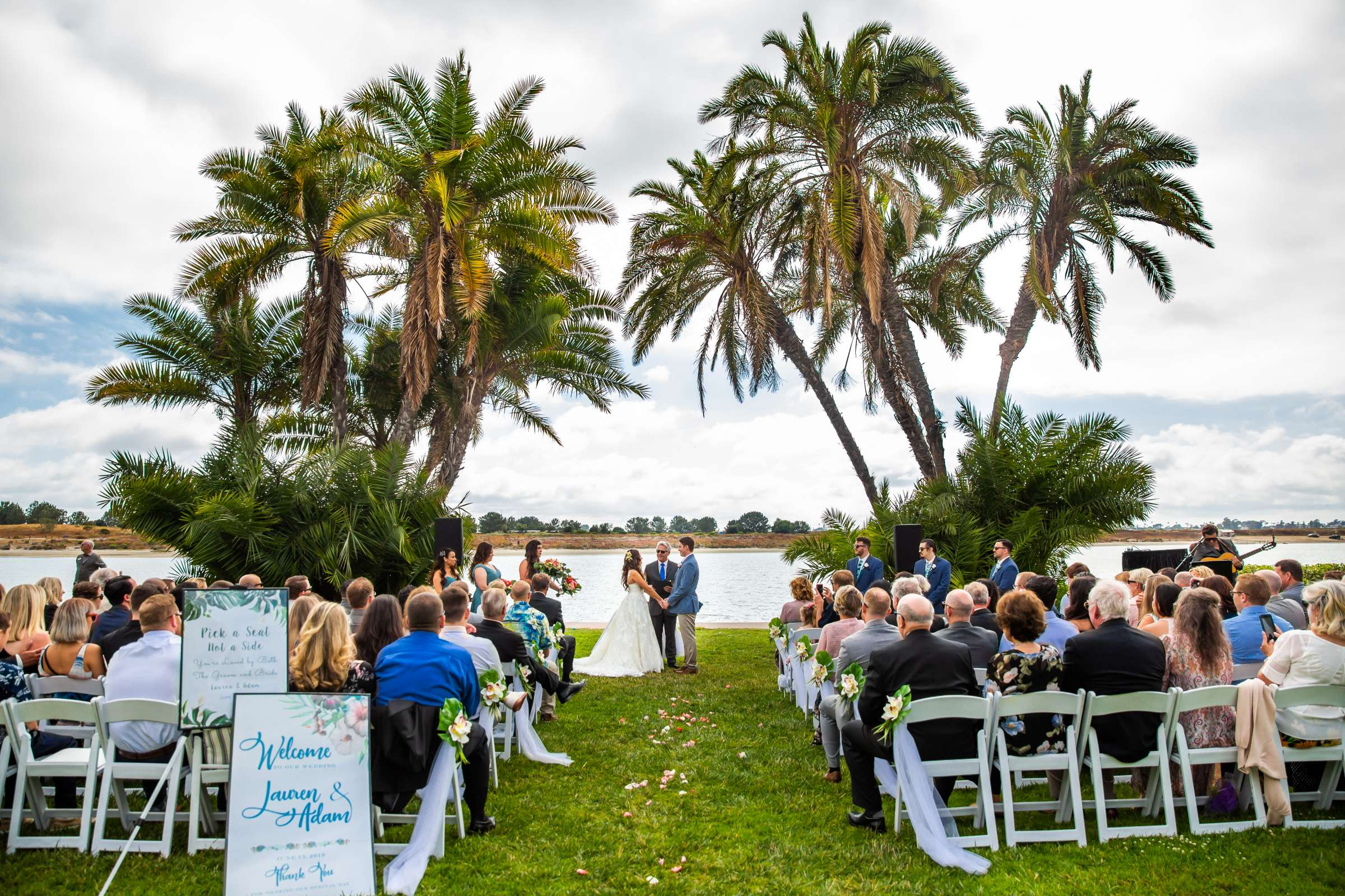 San Diego Mission Bay Resort Wedding coordinated by Cafe Au Love, Lauren and Adam Wedding Photo #66 by True Photography